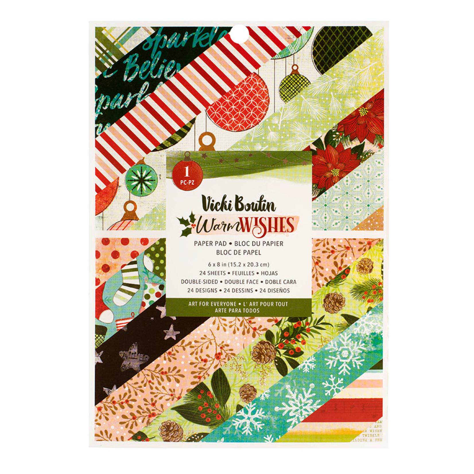 Vicki Boutin Vicki Boutin - Warm Wishes Collection - 6x8 Paper Pad
