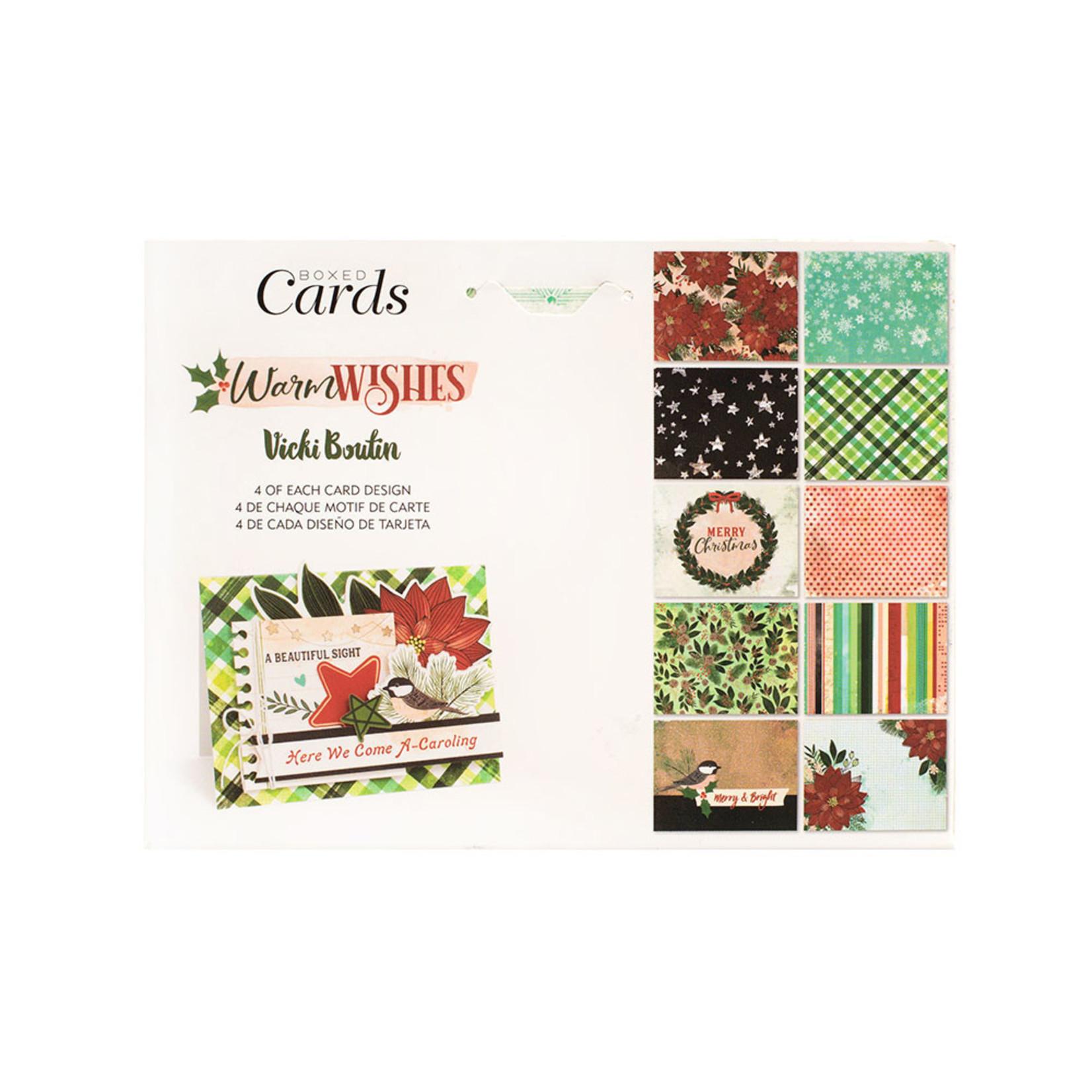 Vicki Boutin Vicki Boutin - Warm Wishes Collection - Boxed Cards