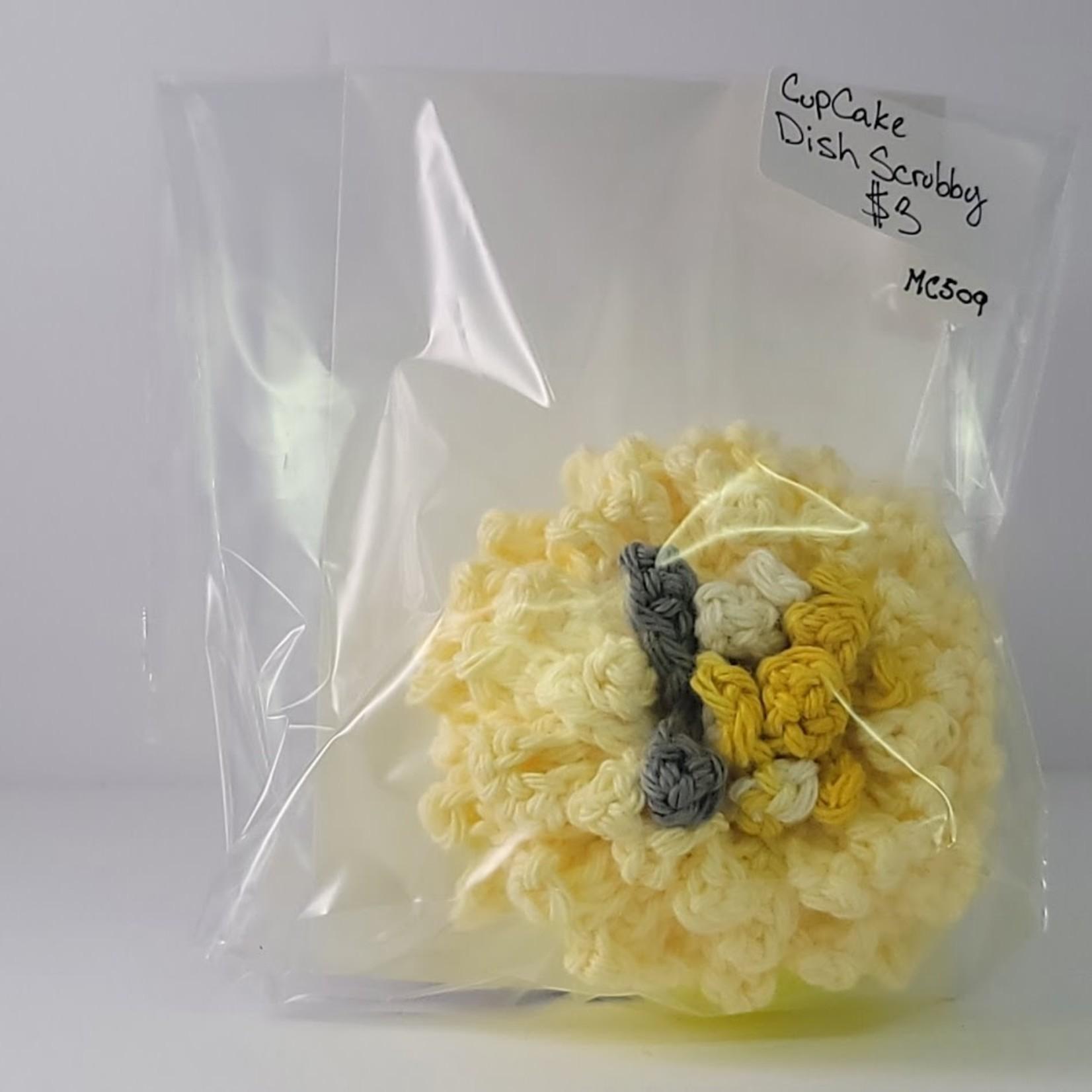 Marjielous Creations Cupcake Dish Scrubby