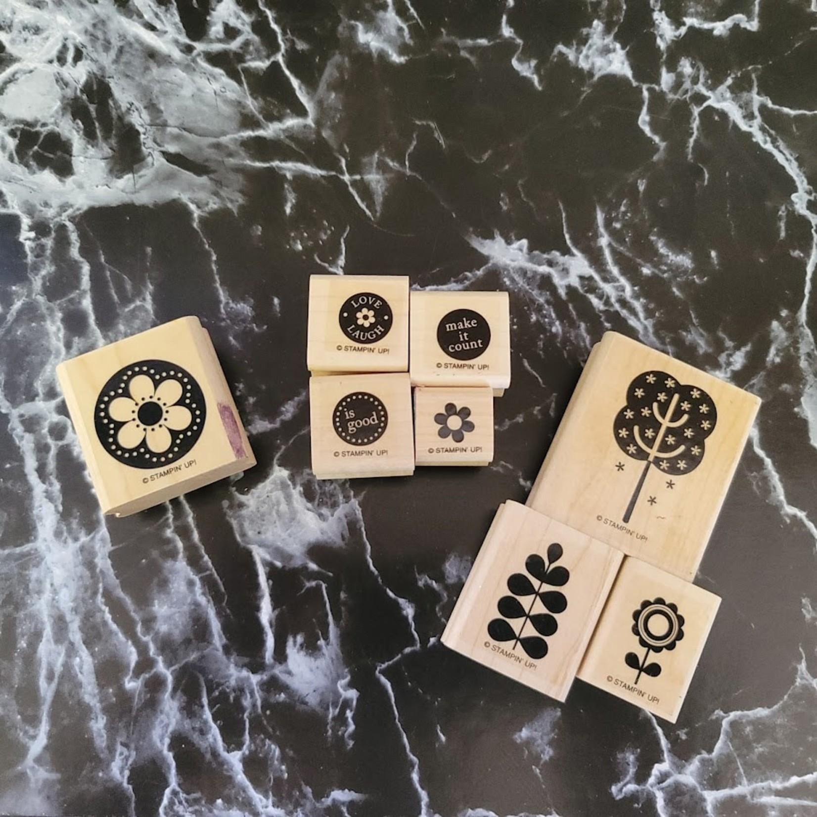 Stampin' Up - Wooden Stamp Set - make it count