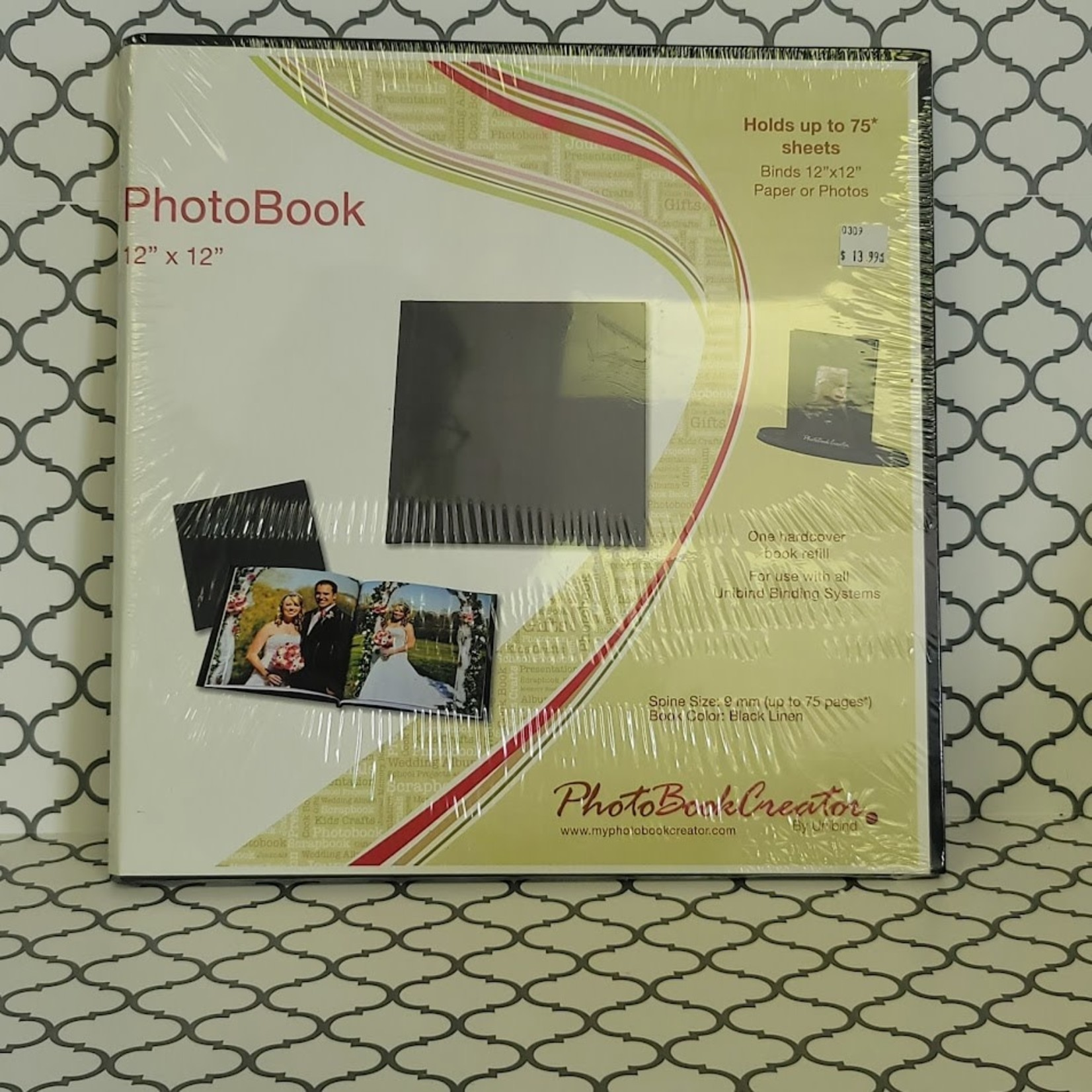 "PhotoBook Creator by Unibind - 12"" x 12"" PhotoBook"