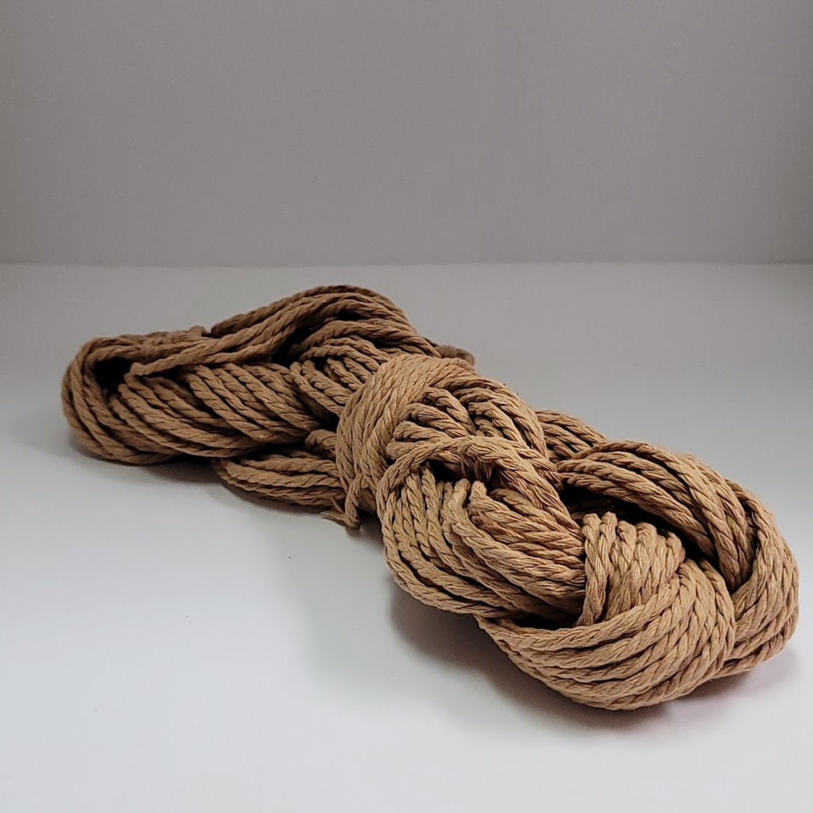 3mm Macrame 3 ply Cord - Approx 50m = 164ft -Rose Gold