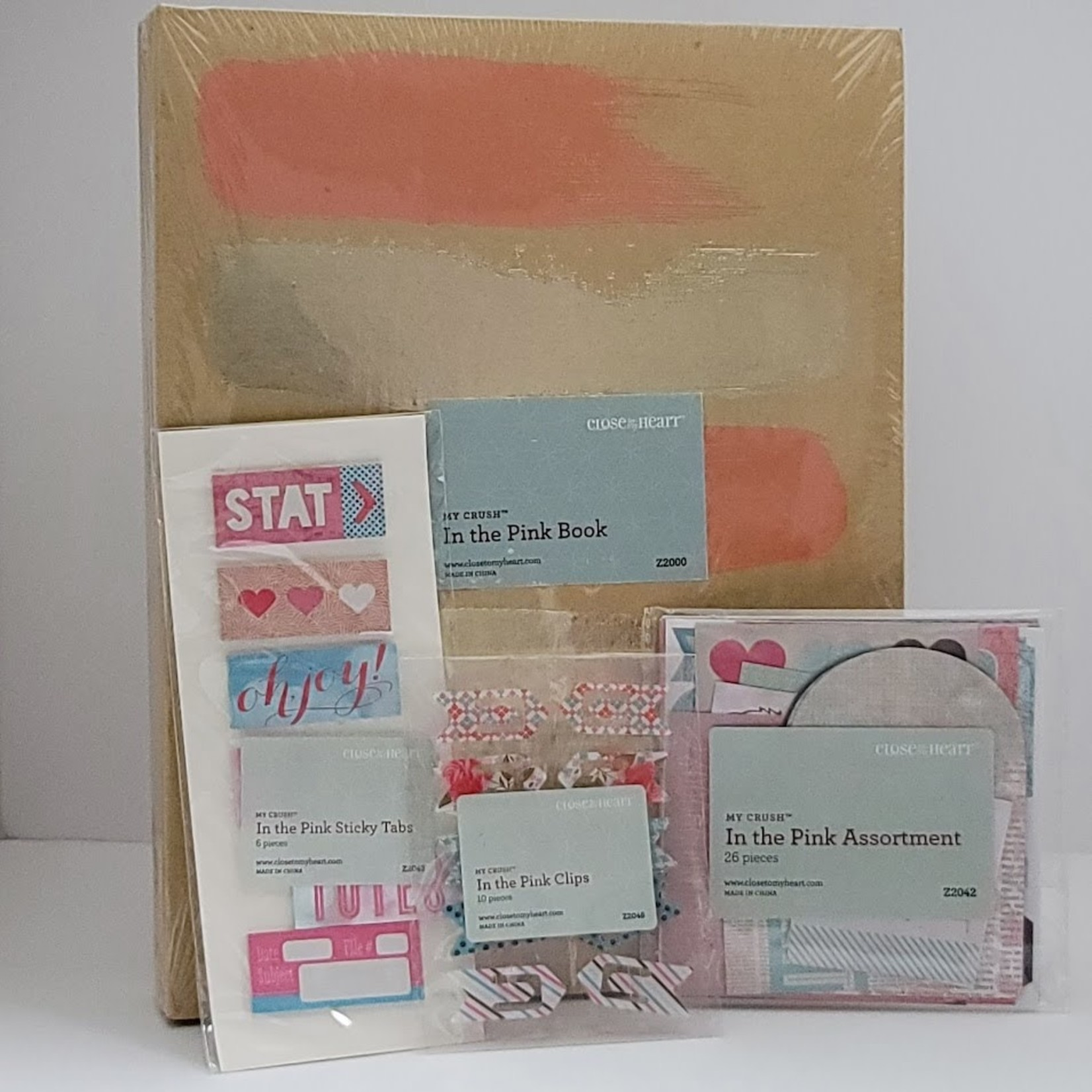 Close to my Heart Close to my Heart - My Crush - In the Pink Book & Embellishments