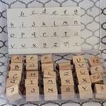 Stampin' Up Stampin' Up Wooden Stamp Set - Brushstrokes Alphabet
