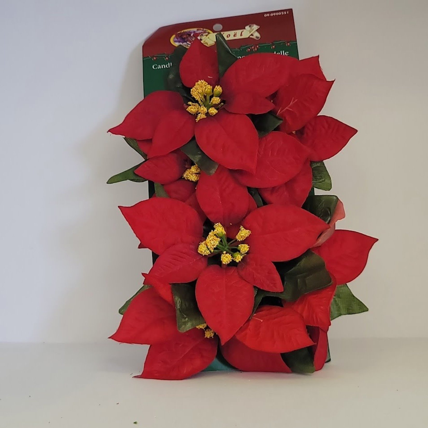 Candle Rings - Poinsettia (2 pack)