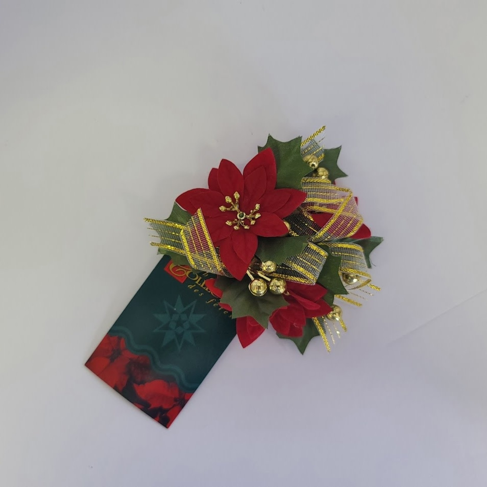 Candle Rings - Poinsettia (small)