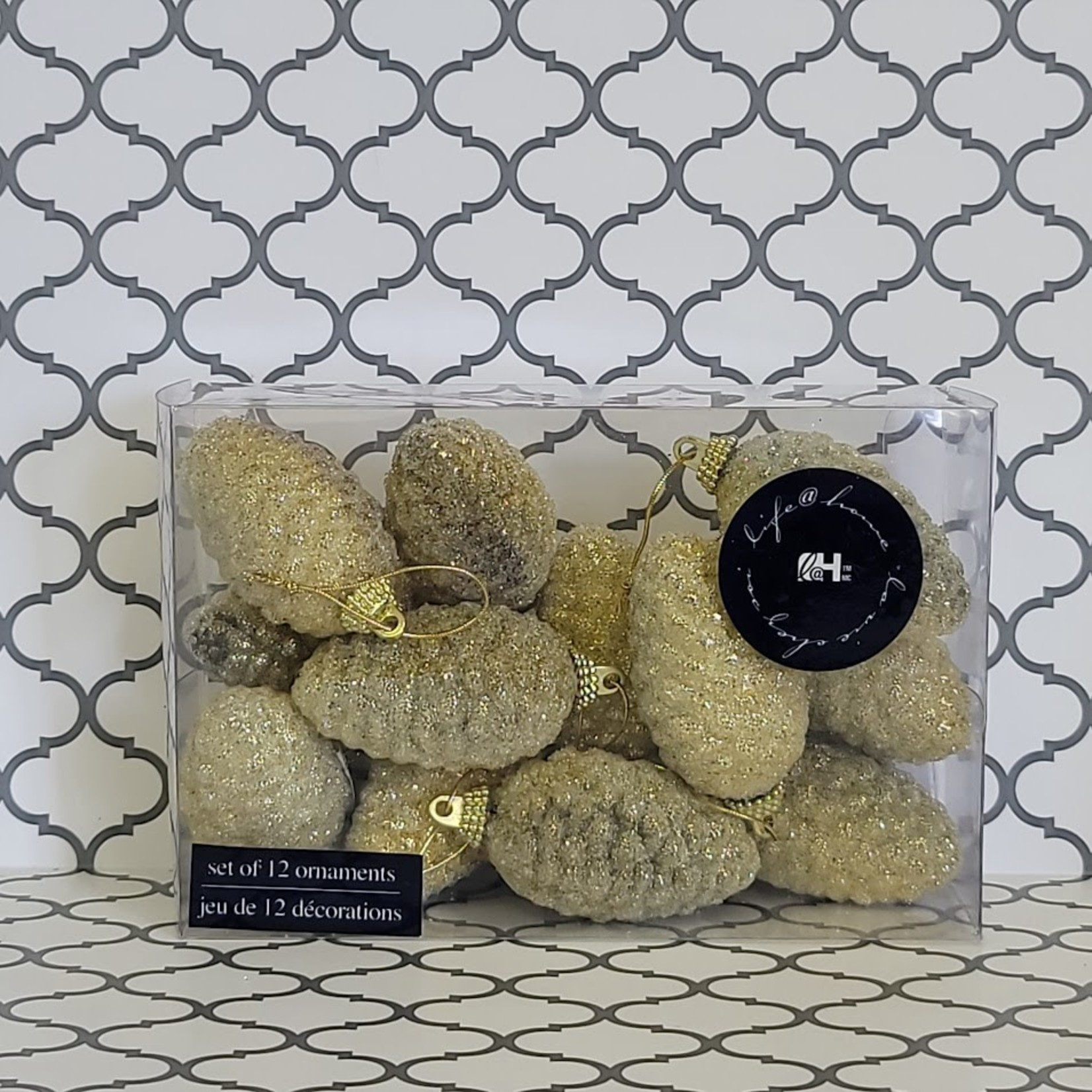 Ornaments - Gold Pine Cones
