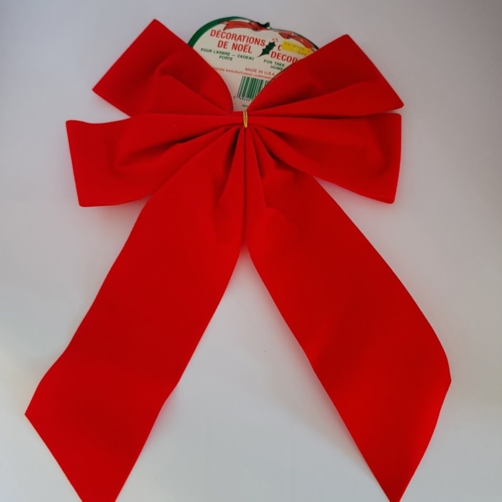 Holiday Bow - Red