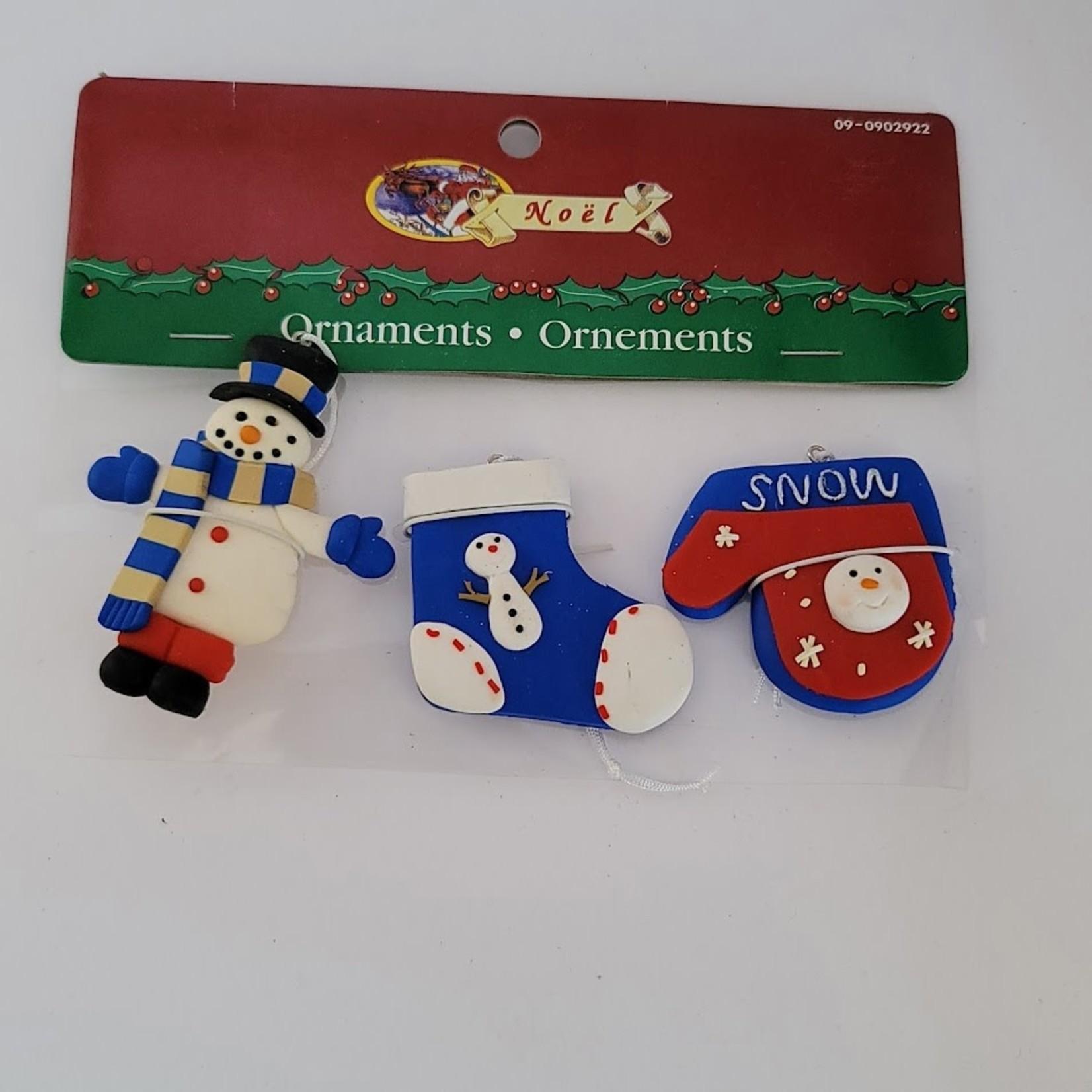 Claydough Holiday Ornaments