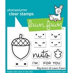 "Lawn Fawn Lawn Fawn Clear Stamps 3""X2""-Big Acorn"