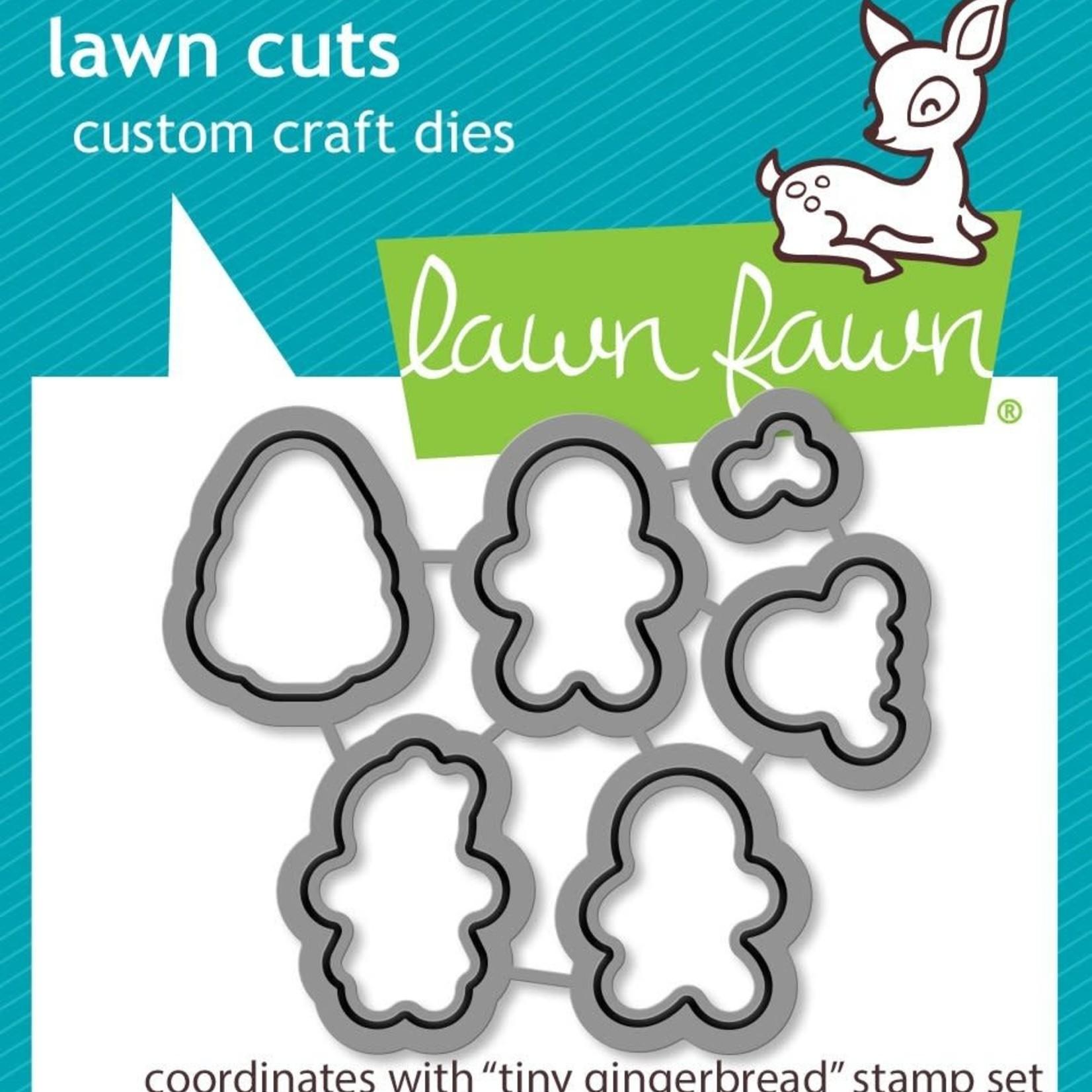 Lawn Fawn Lawn Cuts Custom Craft Die -Tiny Gingerbread