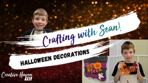 Crafting with Sean - Halloween Decor
