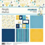 Simple Stories Simple Stories - 12x12 Simple Set - Happy Hanukkah