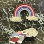 DIY Medium Rainbow Kit (Macrame, Yarn Wrapping)