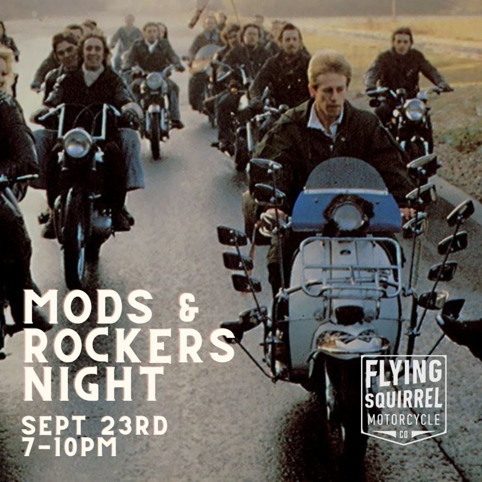 Mods and Rockers' Night Event / + T-shirt