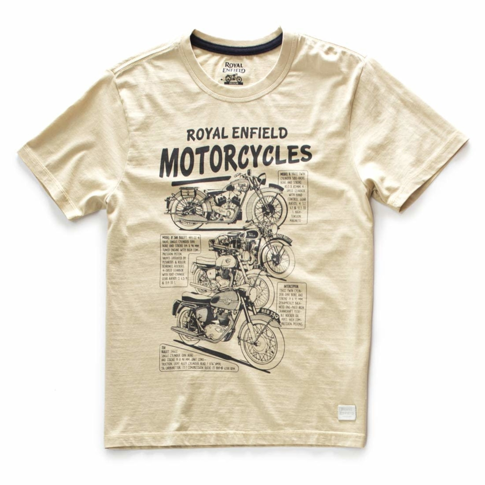 Royal Enfield The Past T Crew - RE Shirt