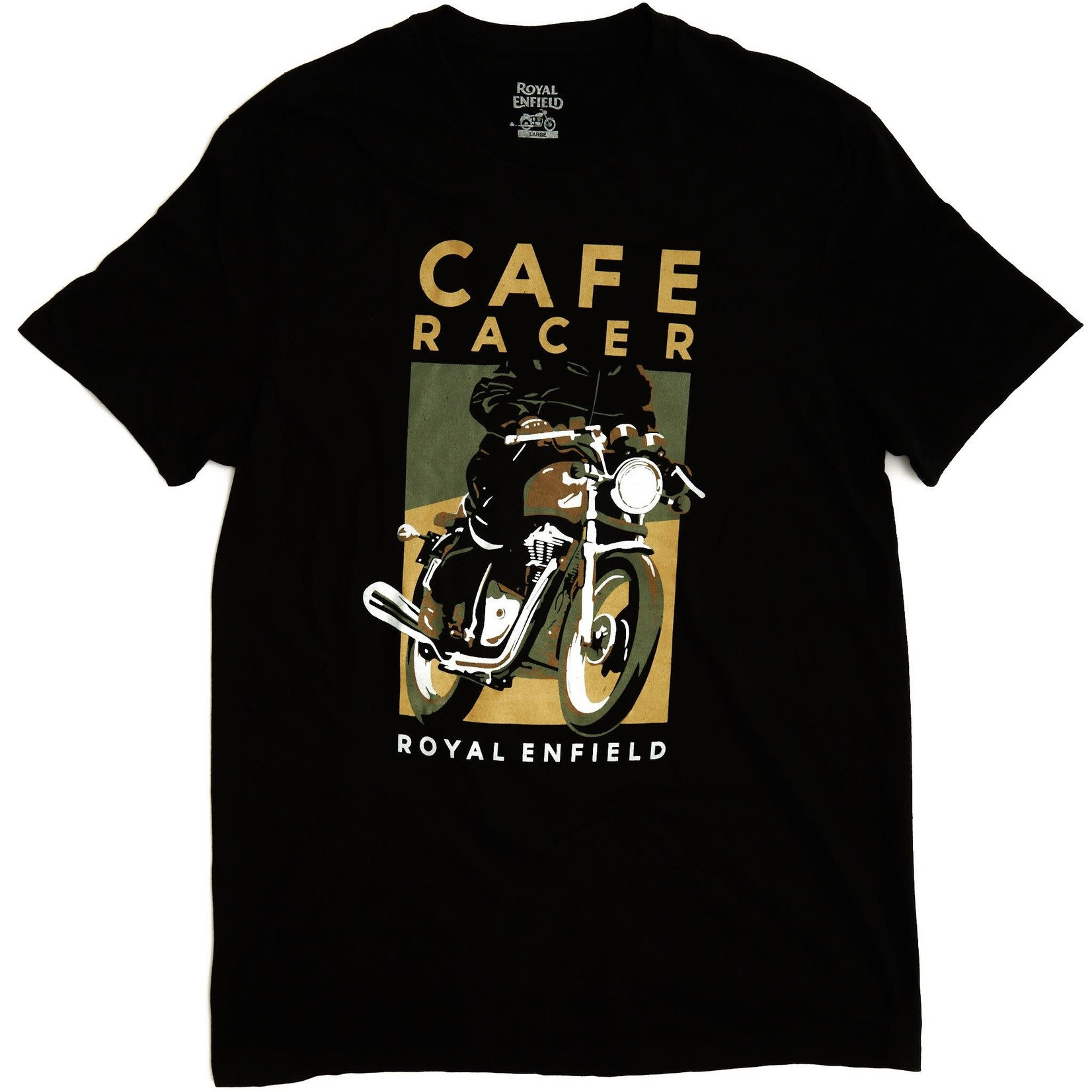 Royal Enfield Cafe Racer- RE shirt