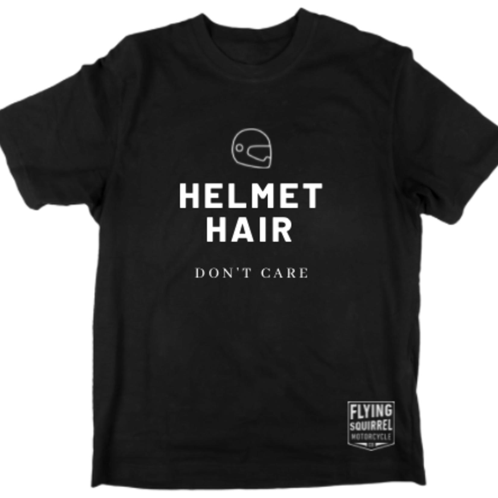 FSM Helmet Hair T-shirt - Black