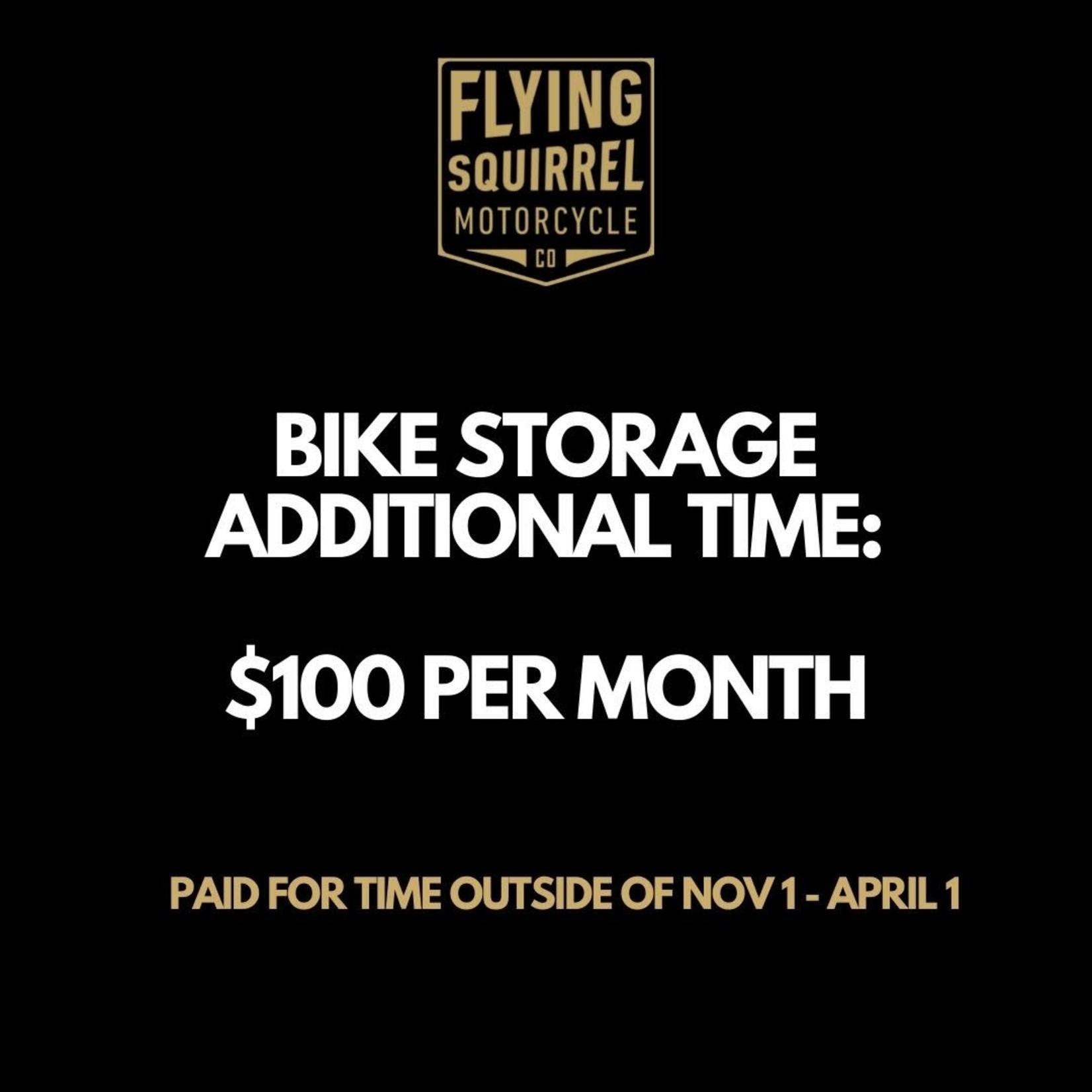 FSM Bike Storage - Additional Month