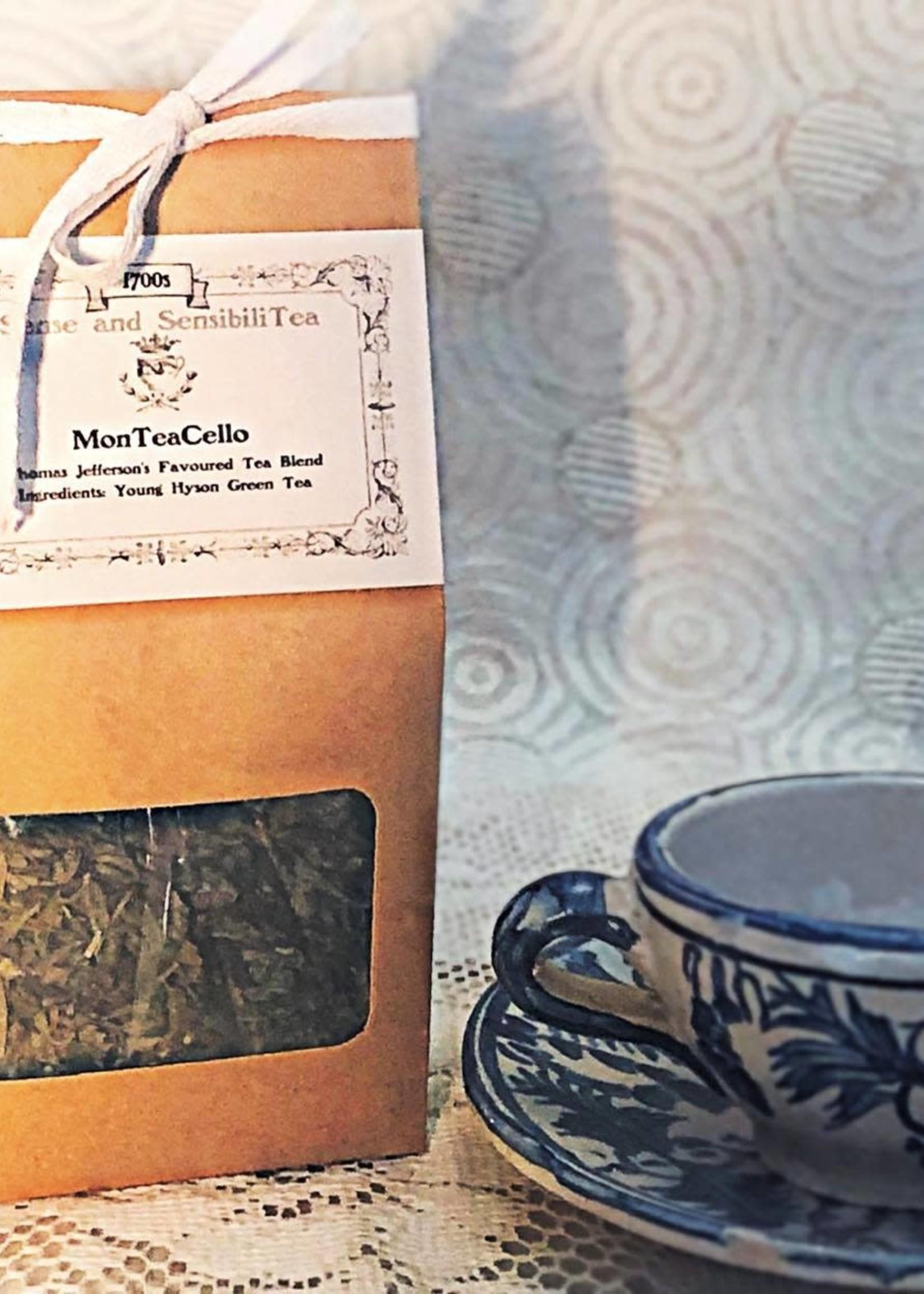 Sense and SensibiliTea 100g MonTeaCello (Green Tea) – 1700s