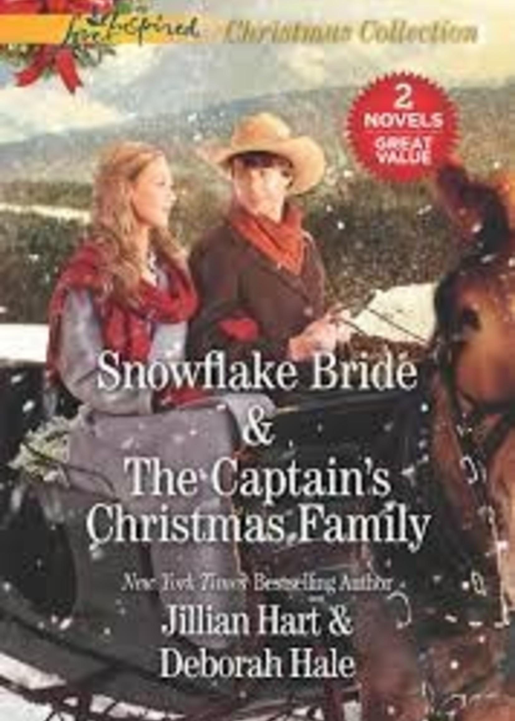 Snowflake Bride & The Captain's Christmas Family by Jillian Hart & Deborah Hale