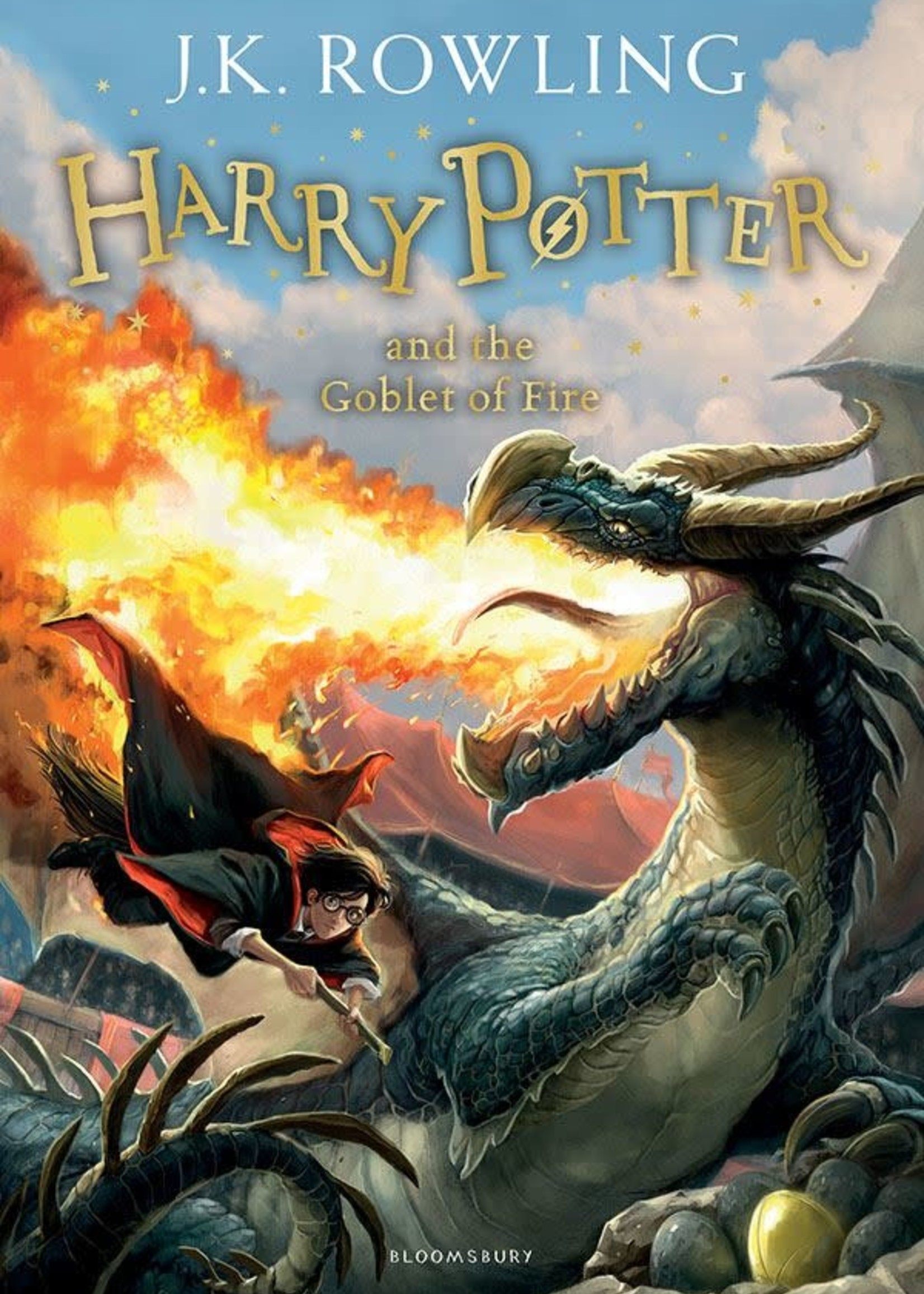 Harry Potter and the Goblet of Fire (Harry Potter #4) by J.K. Rowling