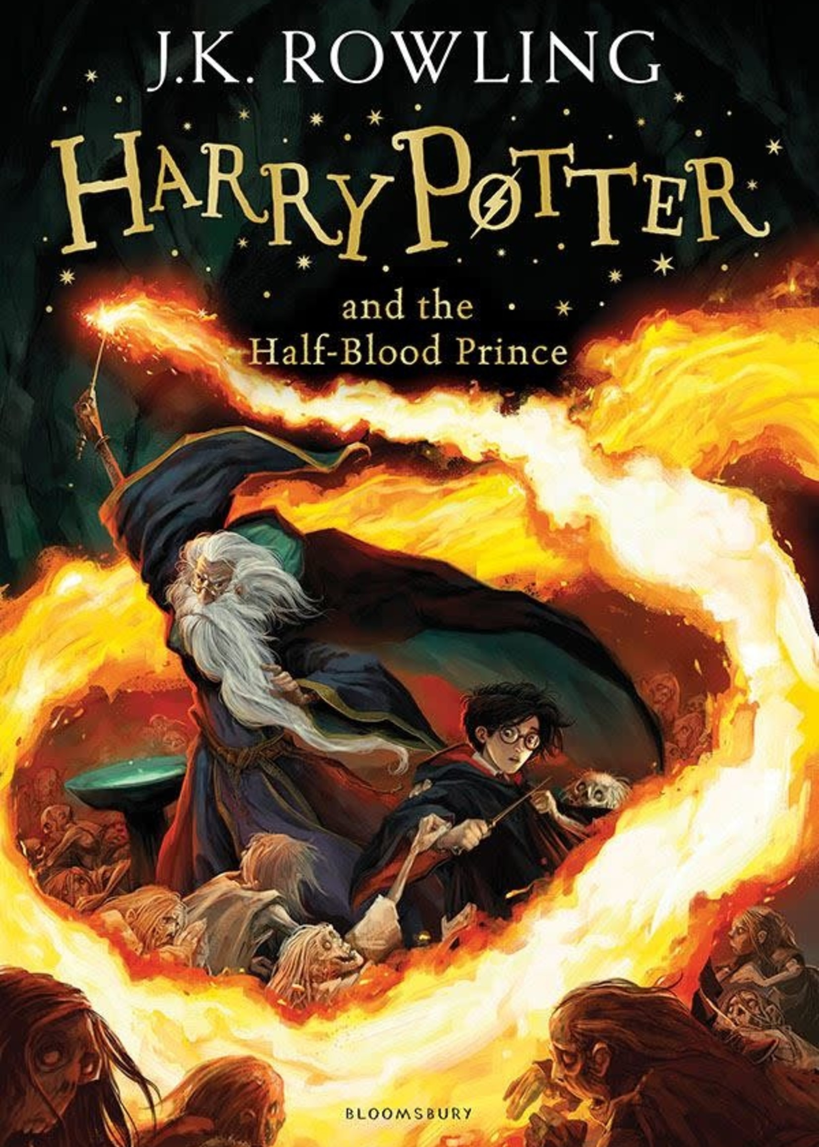 Harry Potter and the Half-Blood Prince (Harry Potter #6) by J.K. Rowling
