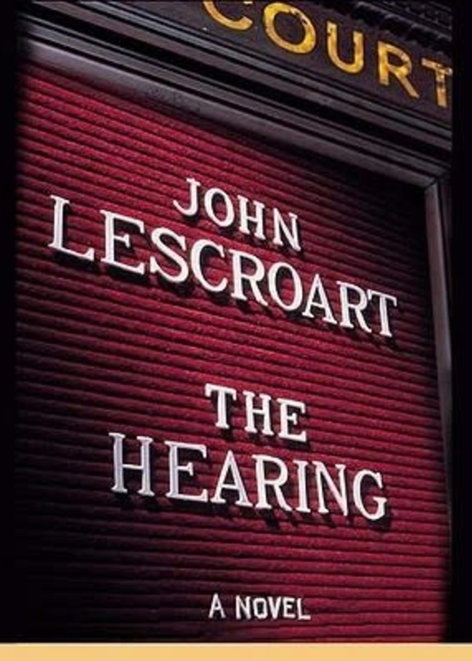 USED - The Hearing by John Lescroart