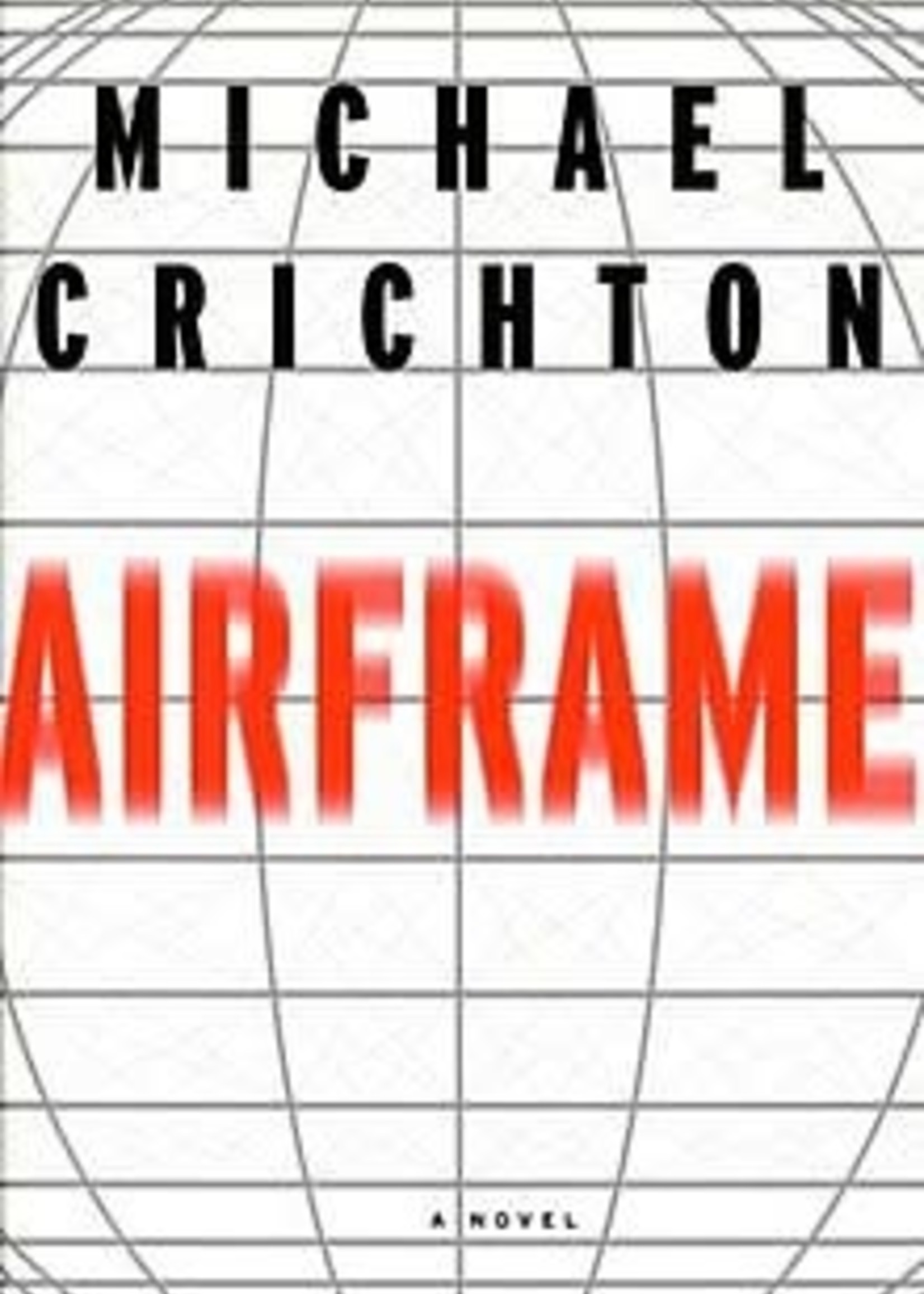 USED - Airframe by Michael Crichton