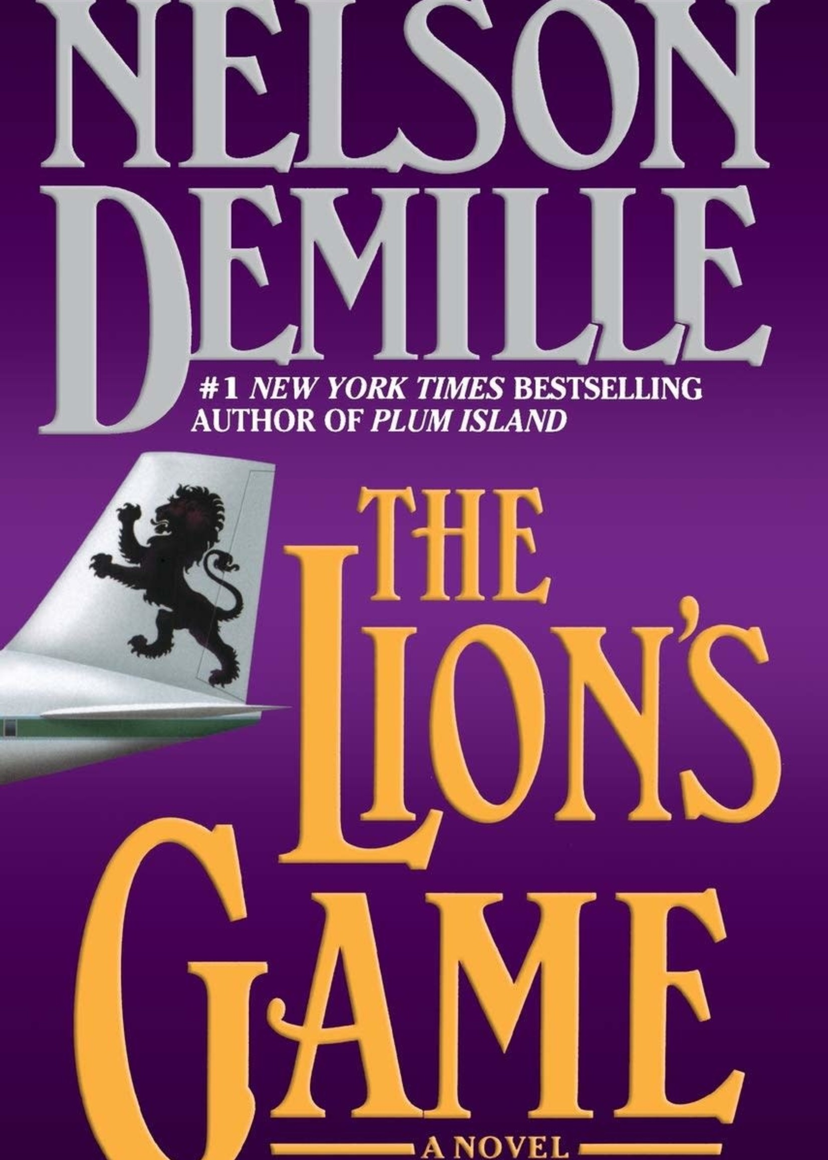 USED - The Lion's Game by Nelson DeMille