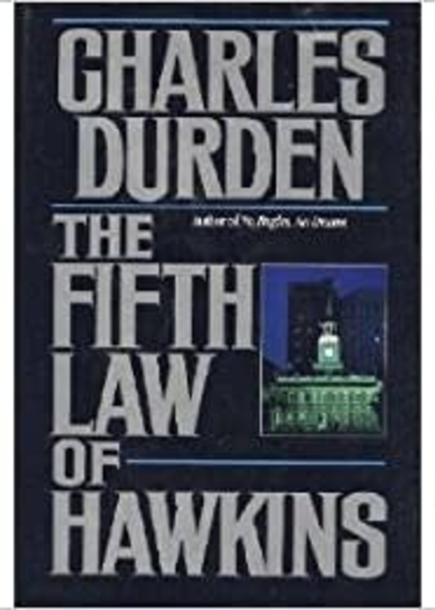 USED - The Fifth Law of Hawkins by Charles Durden