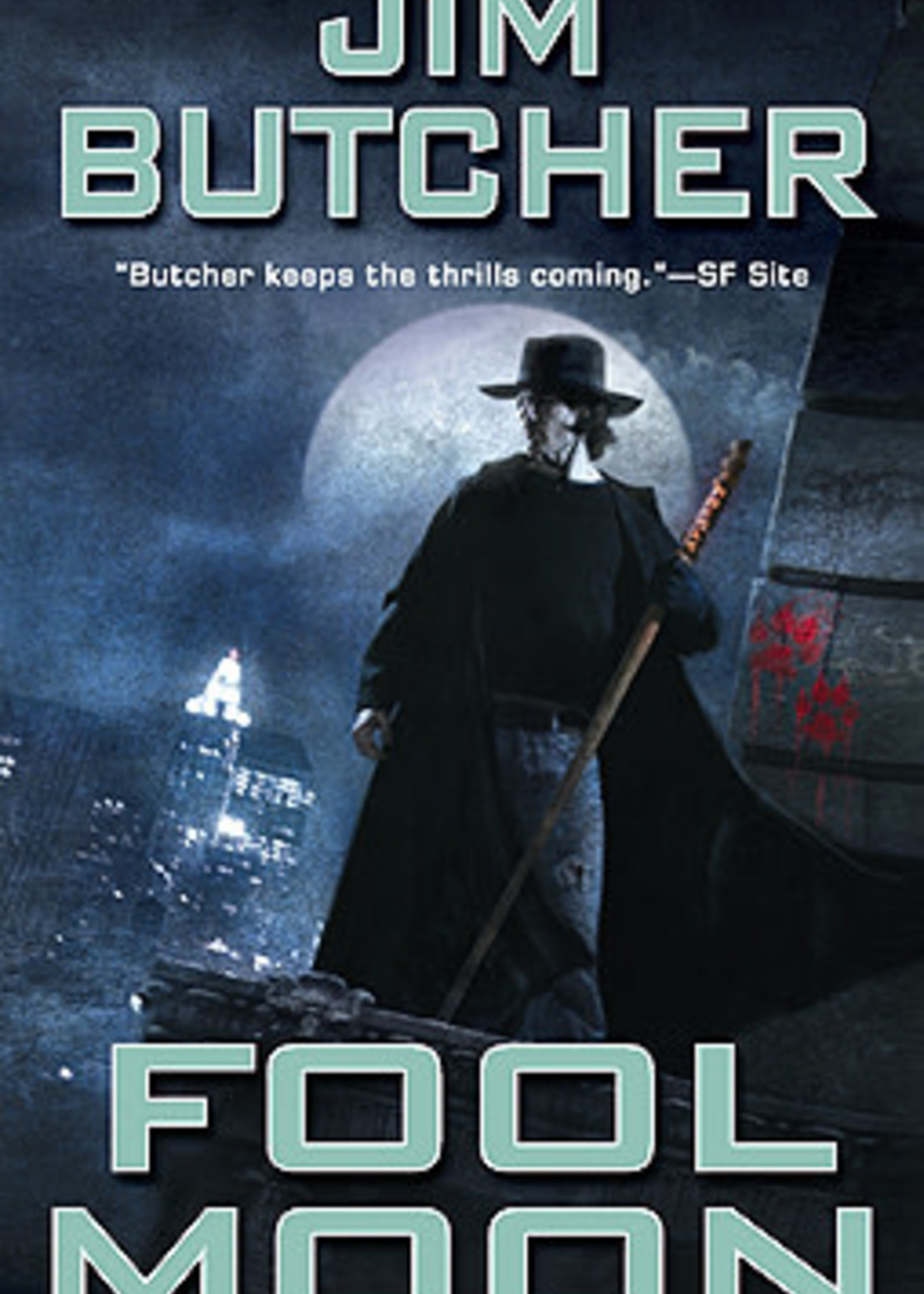 USED - Full Moon by Jim Butcher