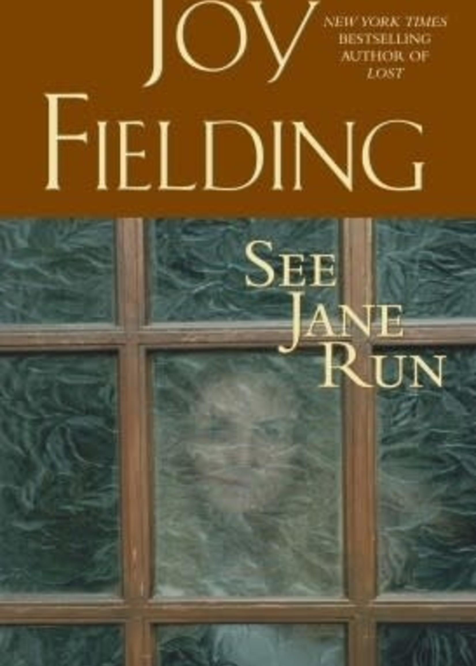 USED - See Jane Run by Joy Fielding