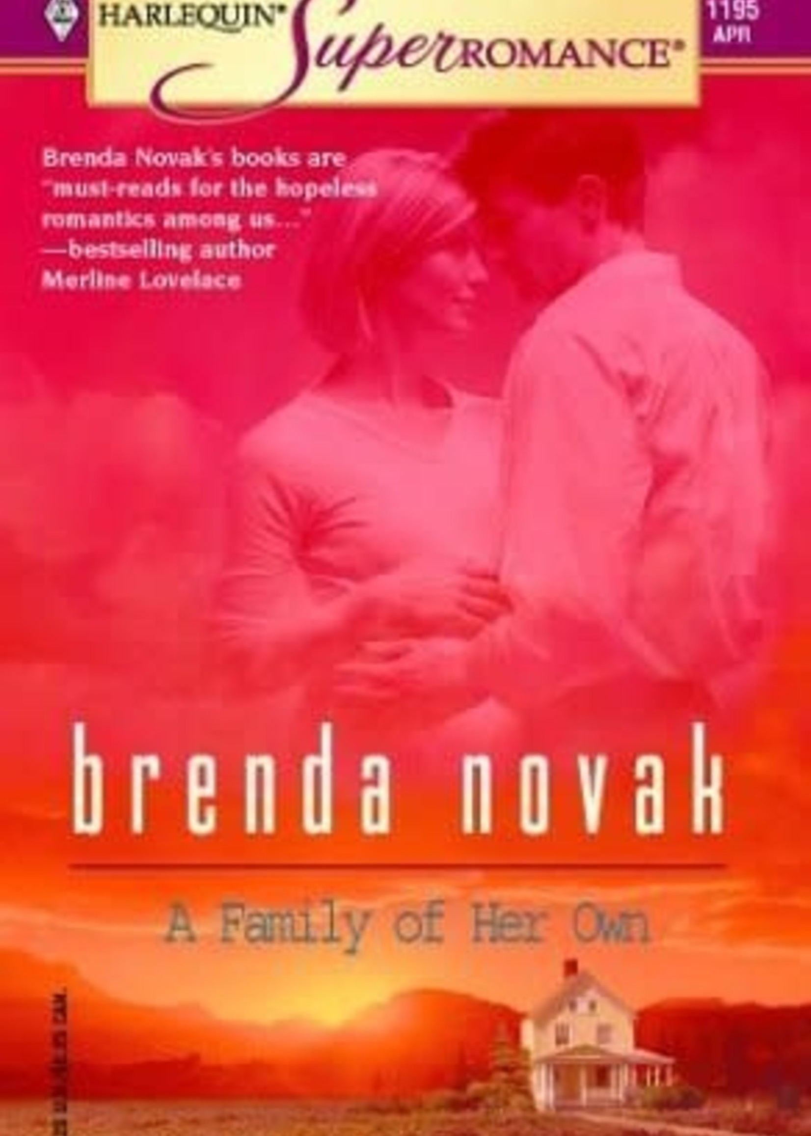 USED - A Family of Her Own by Brenda Novak