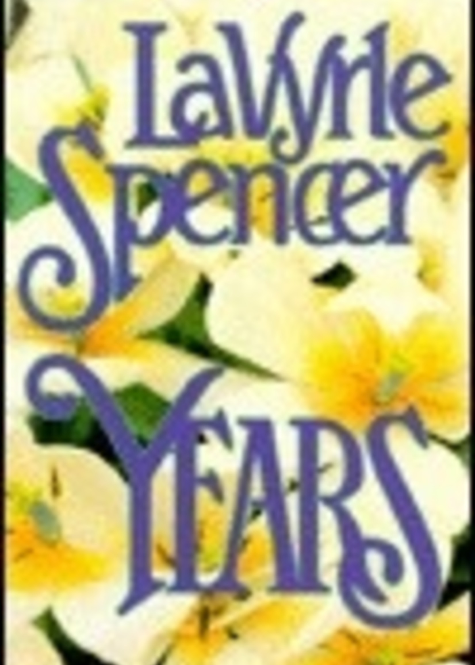 USED - Years by LaVyrle Spencer