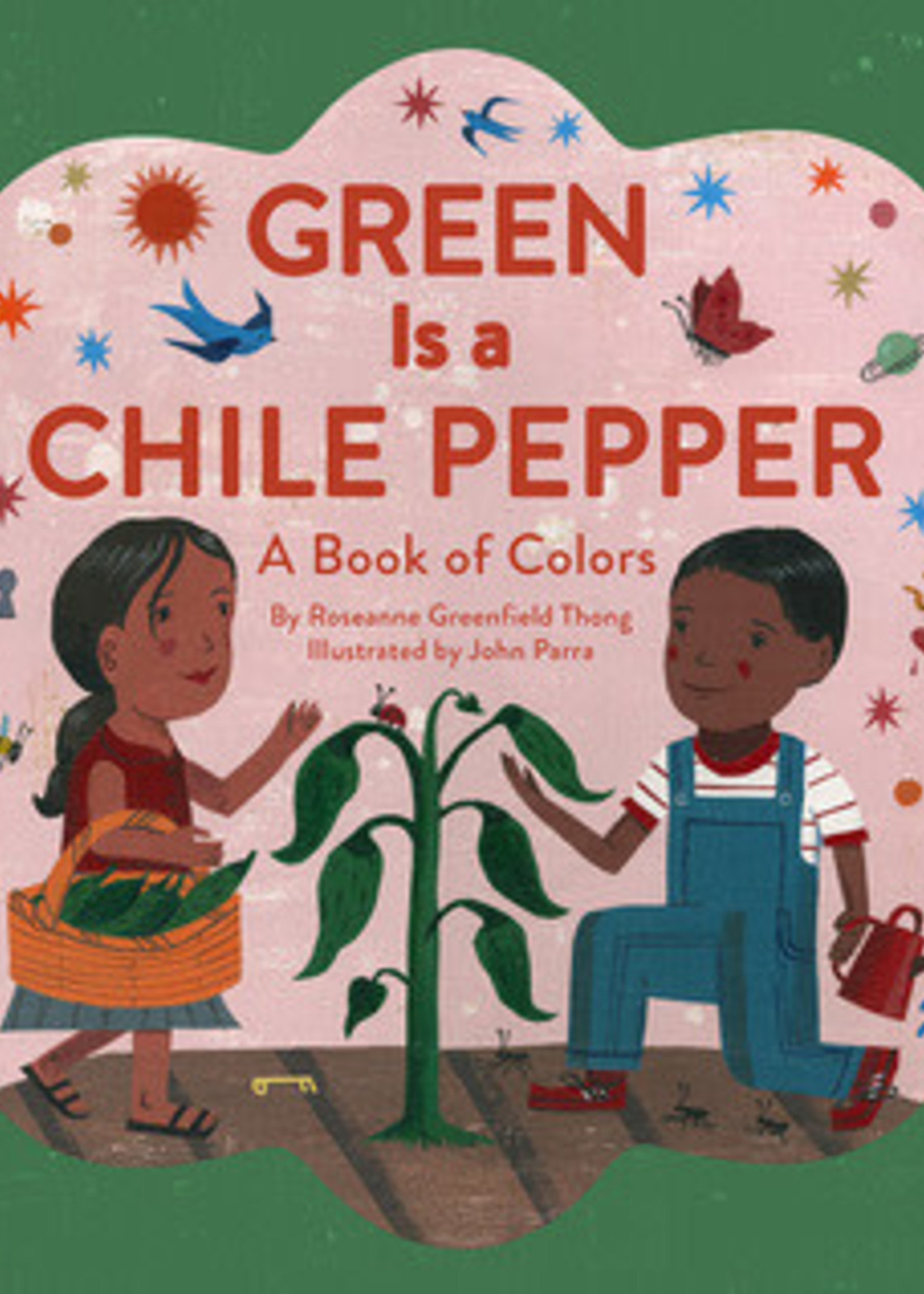 Green is  a Chile Pepper: A Book of Colors by Roseanne Greenfield thong