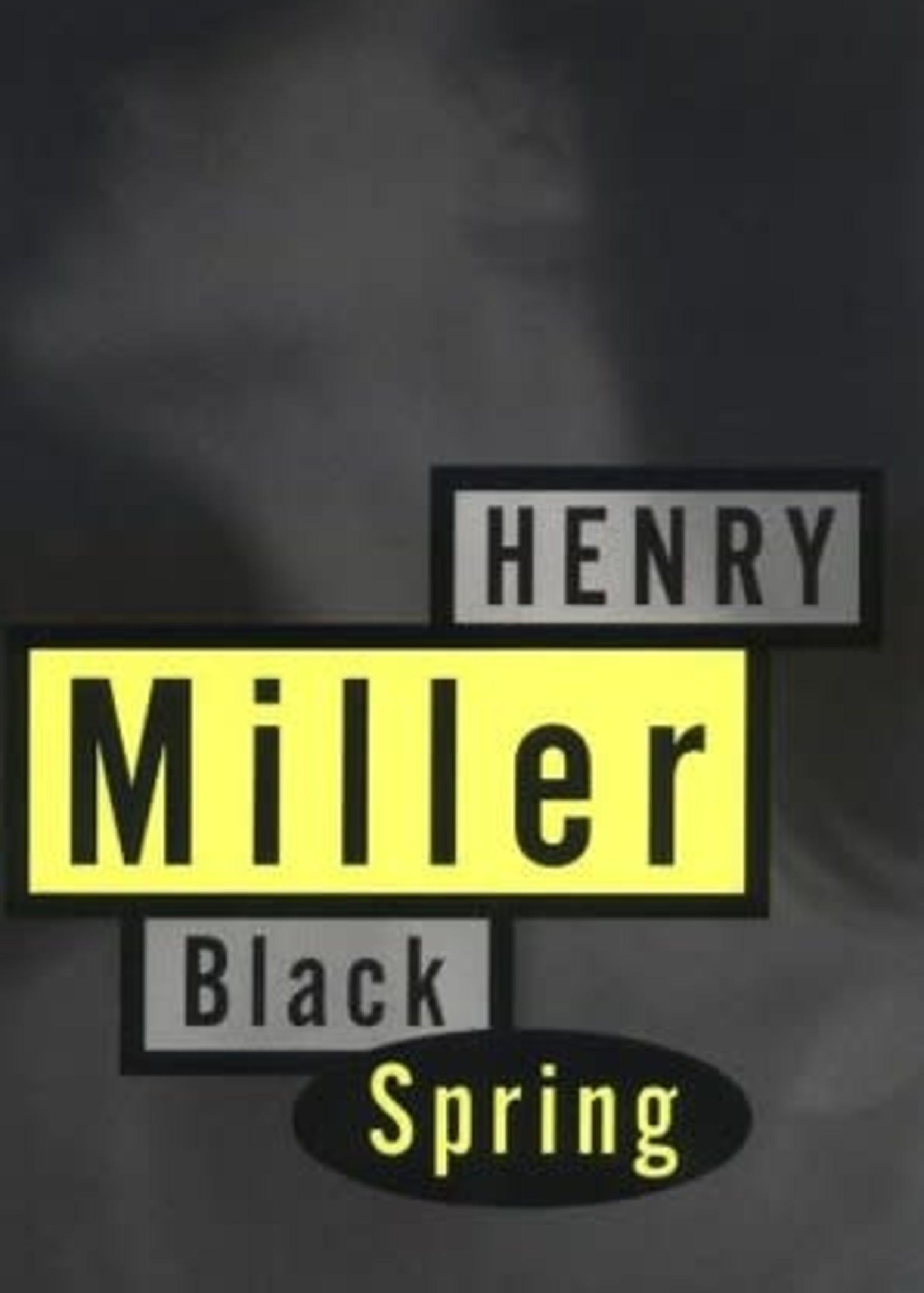 Black Spring by Henry Miller