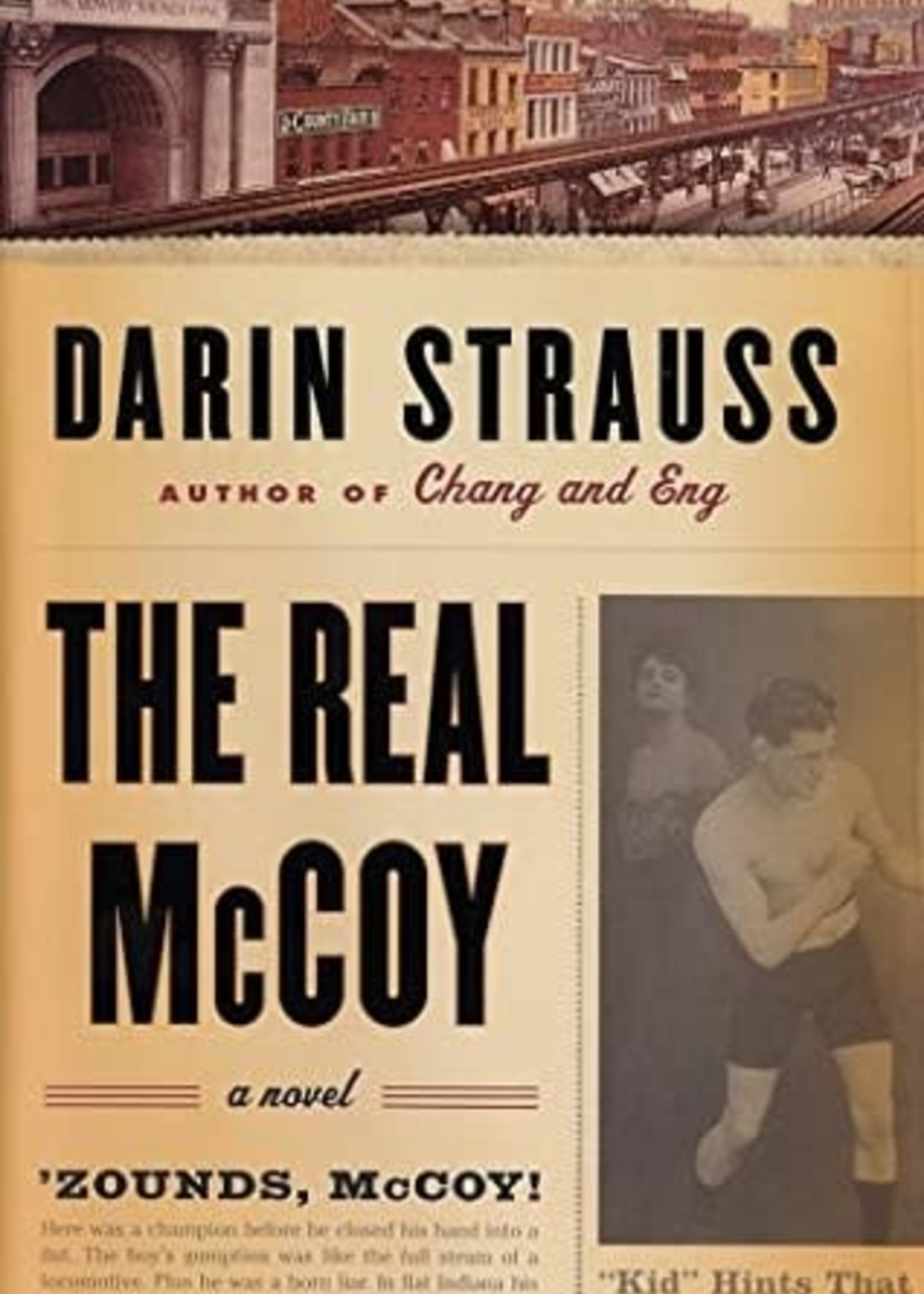 USED - The Real McCoy by Darin Strauss