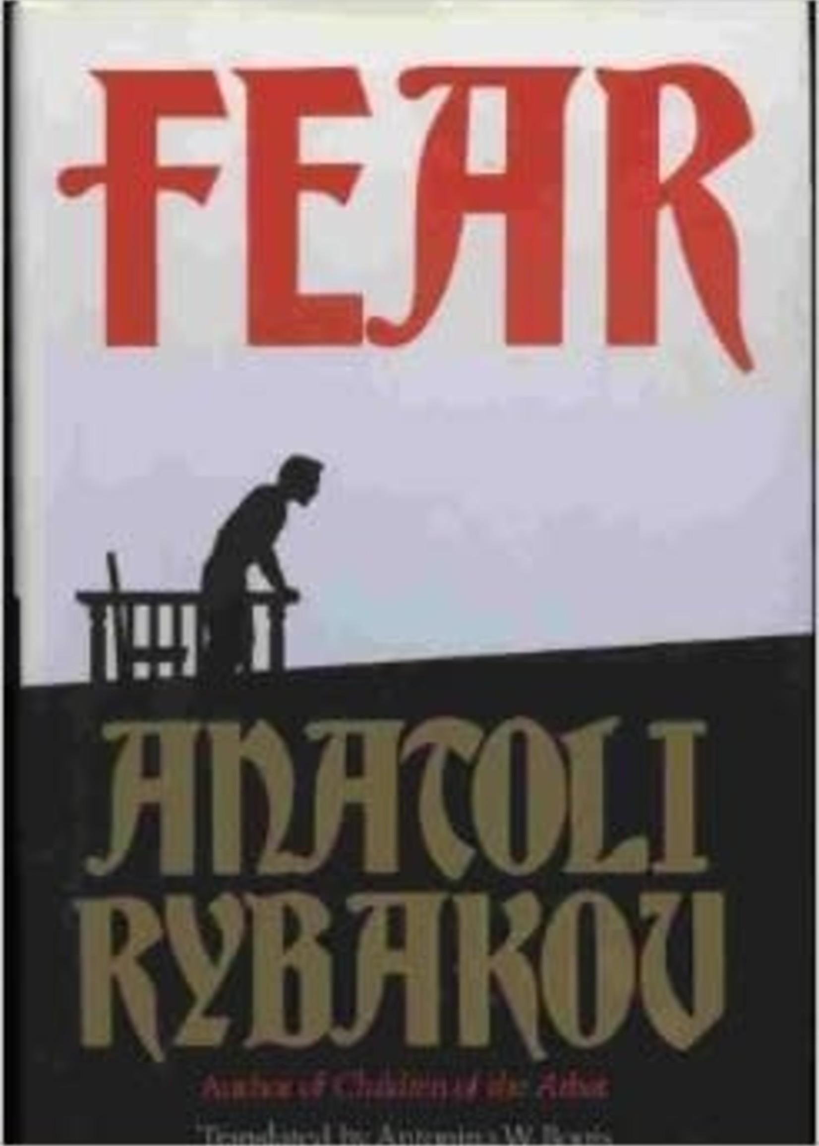 USED - Fear by Anatoli Rybakov