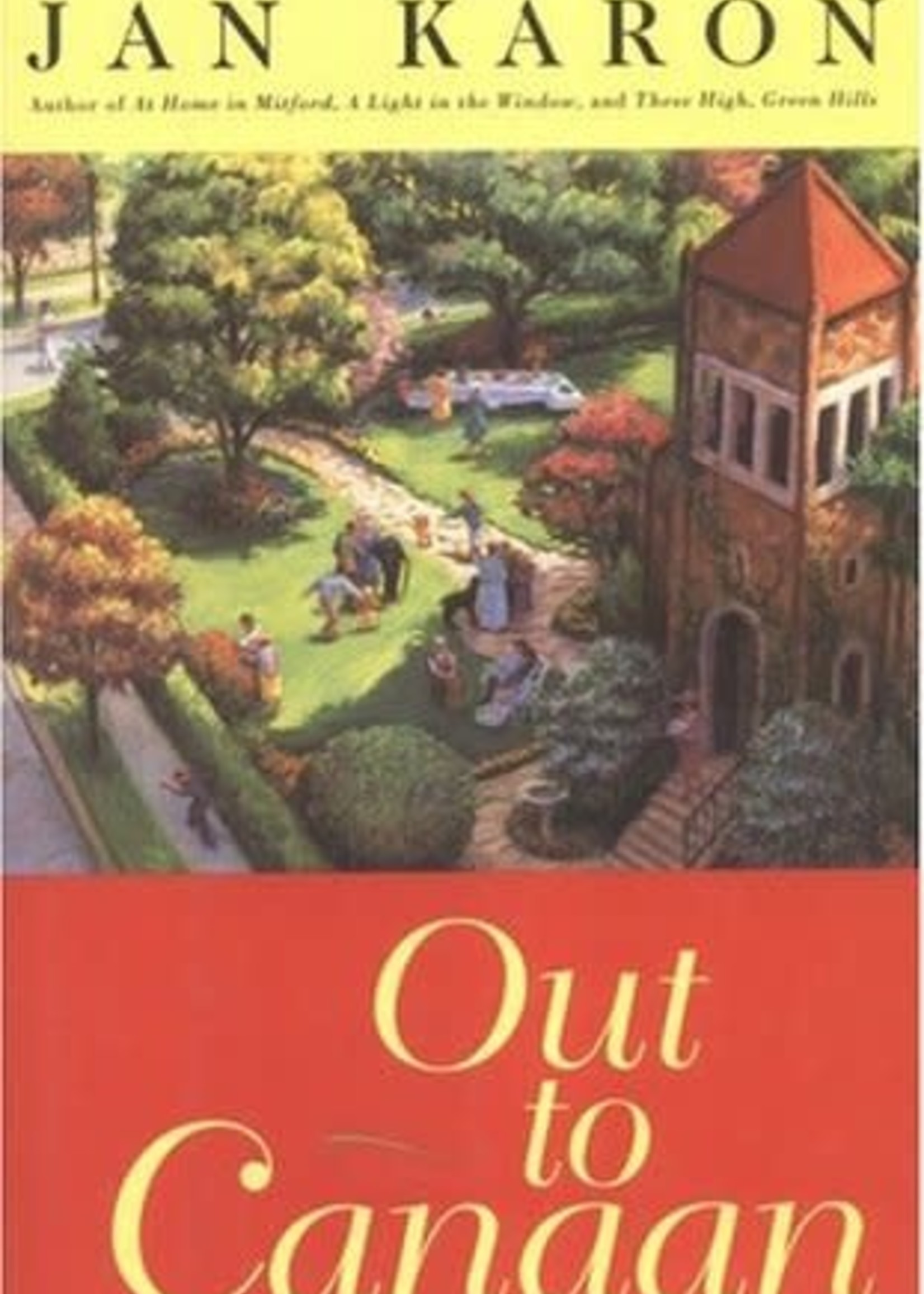 USED - Out of Canaan by Jan Karon