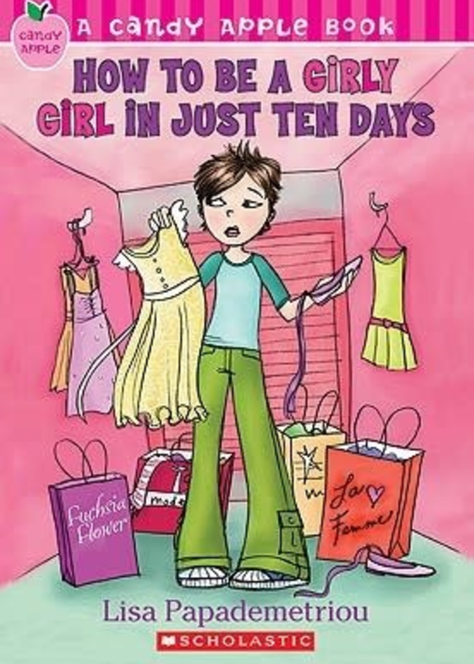 USED - How To Be a Girly Girl in Just Ten Days by Lisa Papademetriou