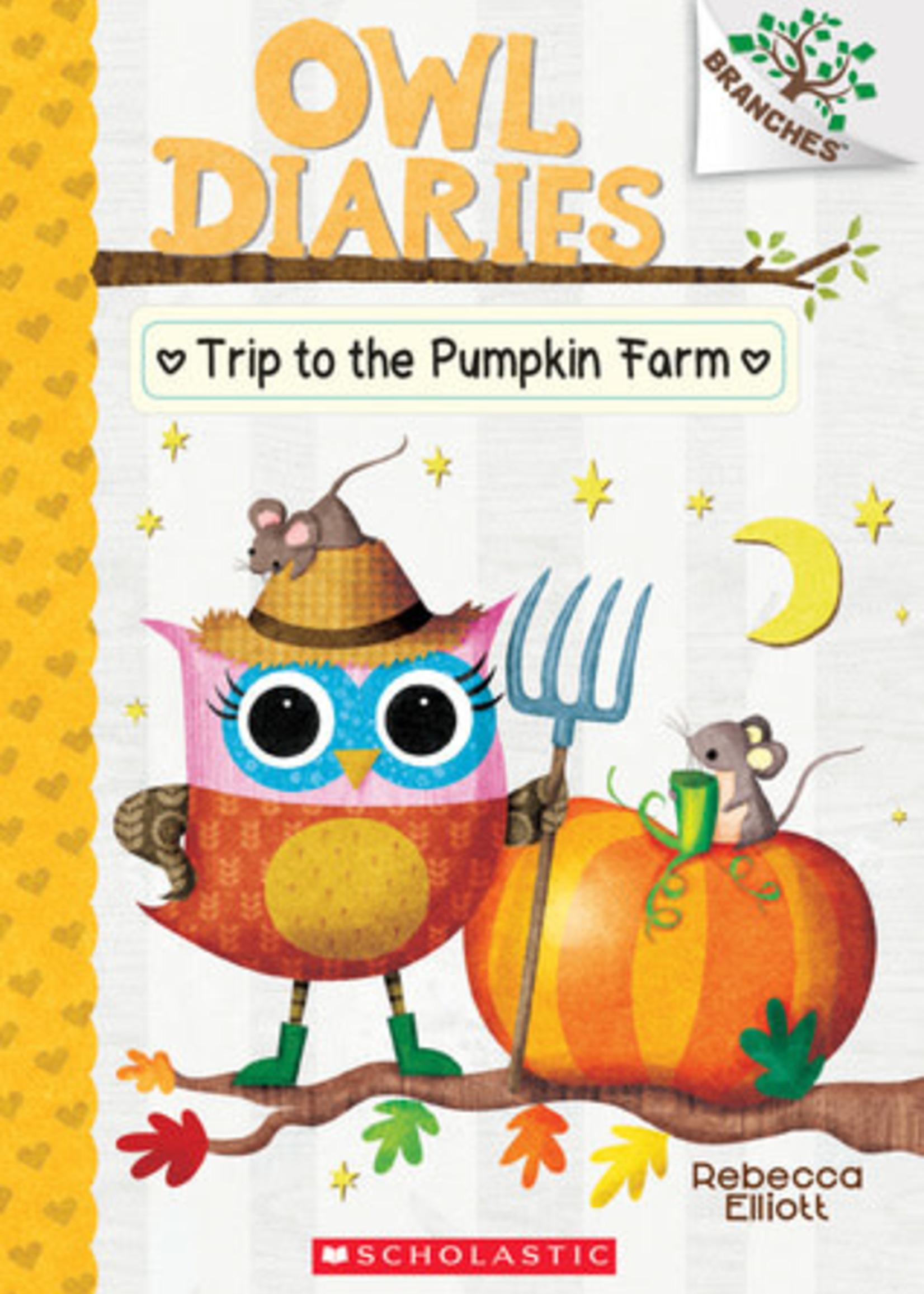 Trip to the Pumpkin Farm by Rebecca Elliott
