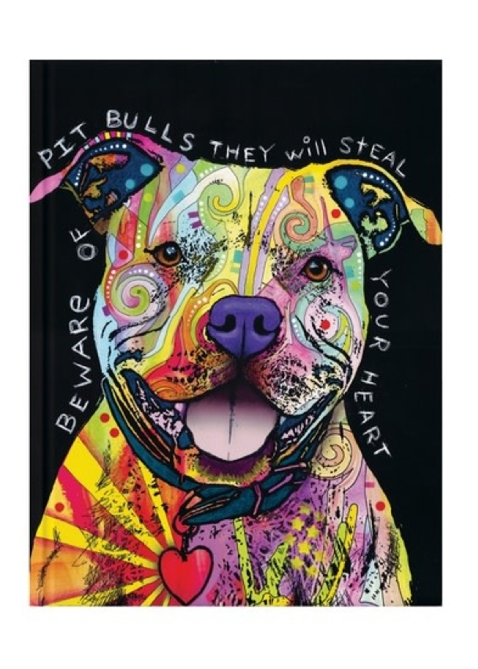 Pit Bull Lined Journal
