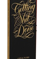 Getting Shit Done List Ledger by Calligraphuck