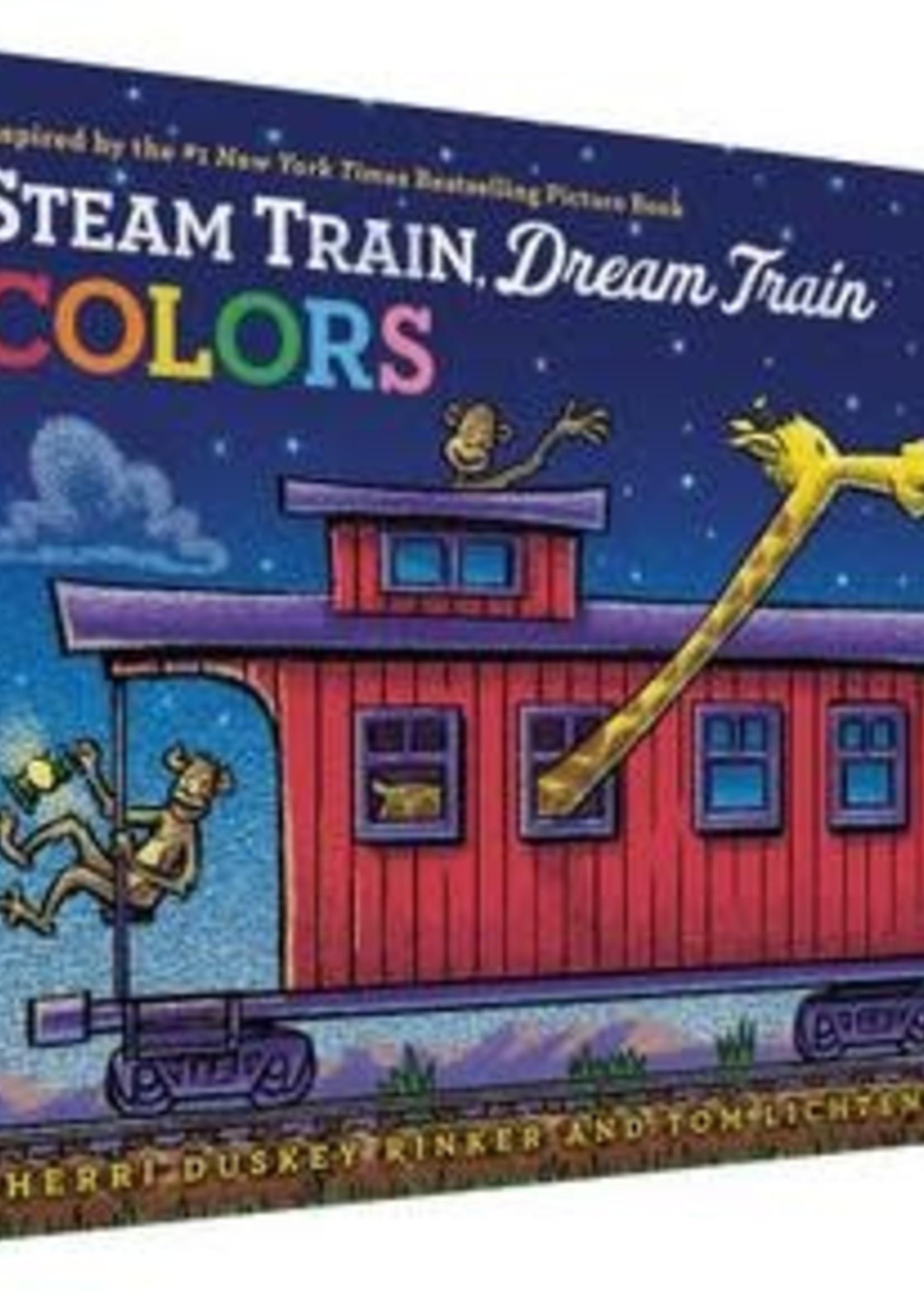 Steam Train, Dream Train Colors by Sherri Duskey Rinker,  Tom Lichtenheld