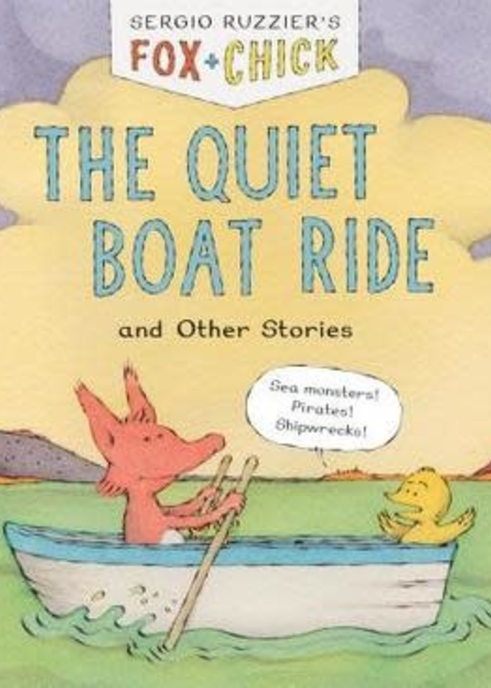 The Quiet Boat Ride and Other Stories by Sergio Ruzzier