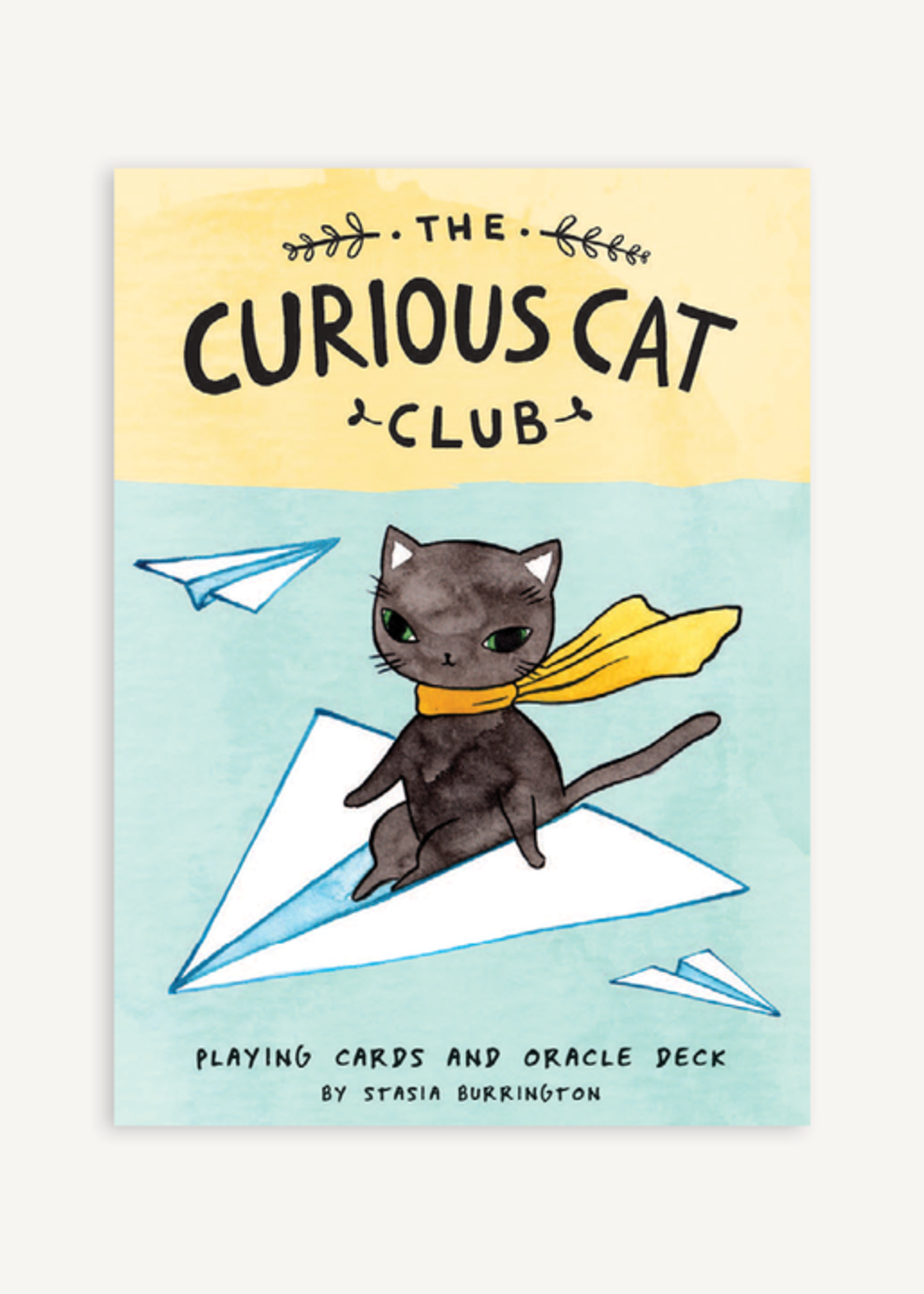 The Curious Cat Playing Cards and Oracle Deck by Stasia Burrington