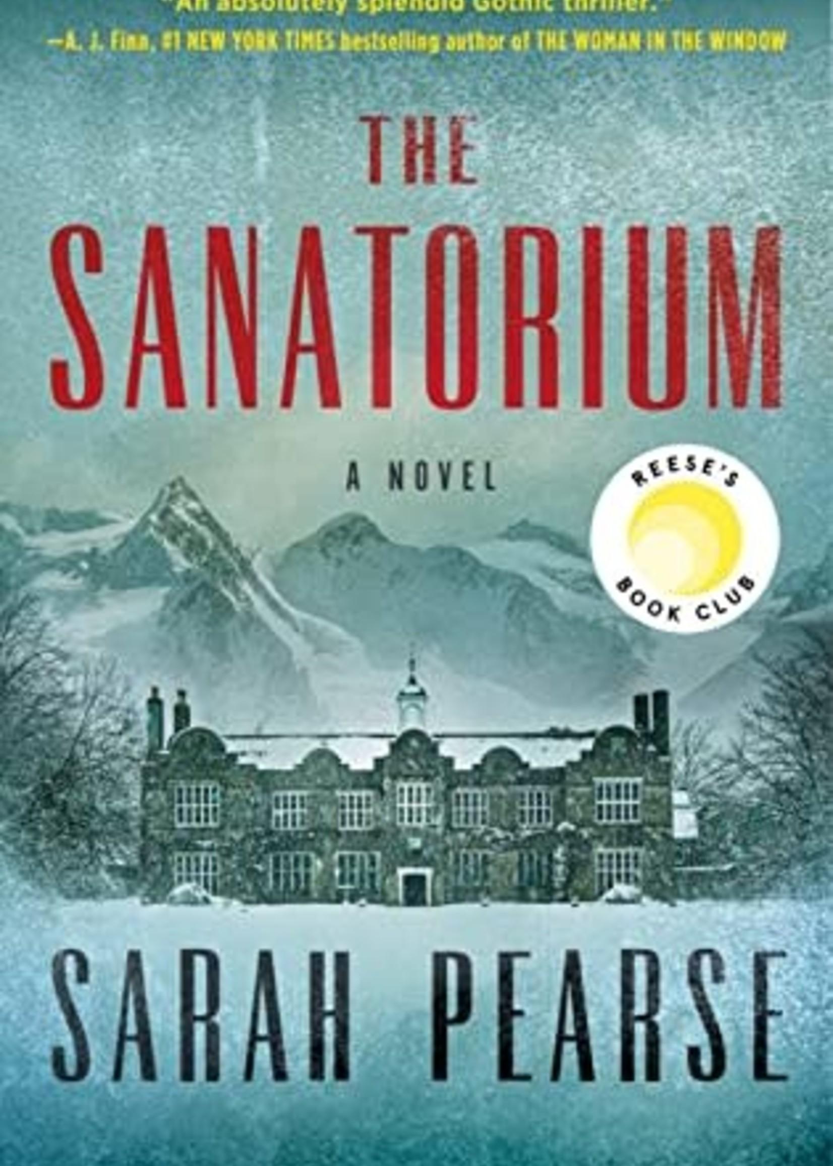 The Sanatorium (Detective Elin Warner #1) by Sarah Pearse