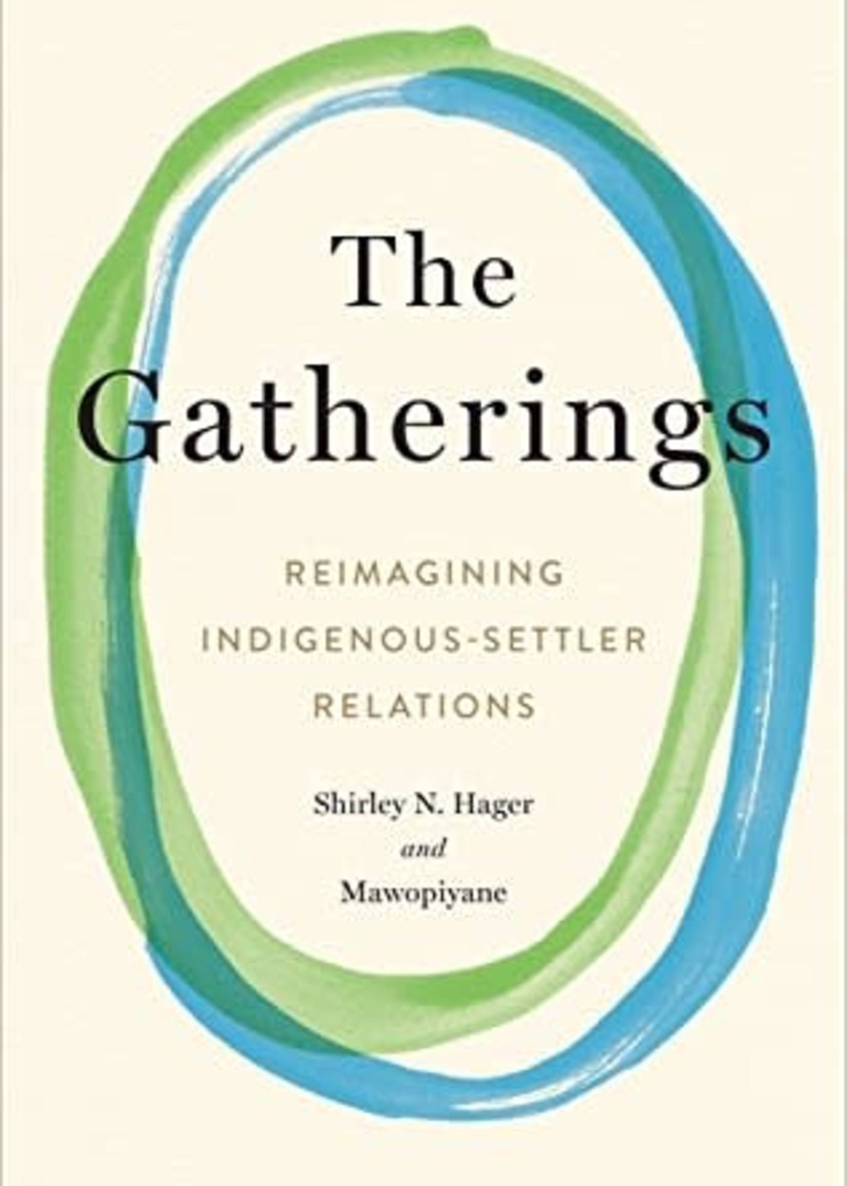 The Gatherings: Reimagining Indigenous-Settler Relations by Shirley Hager,  Mawopiyane