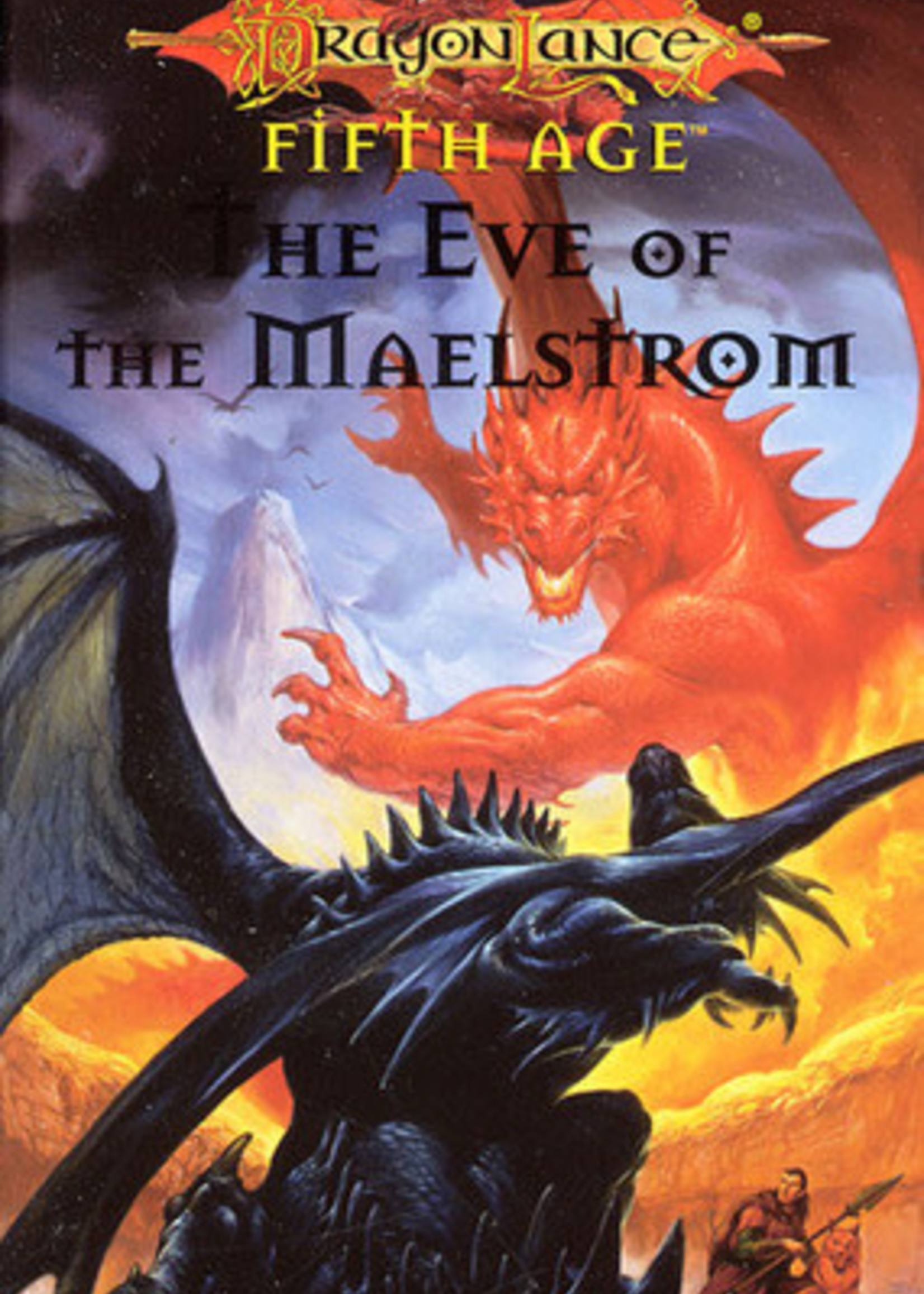 The Eve of the Maelstrom (Dragonlance: Dragons of a New Age #3) by Jean Rabe